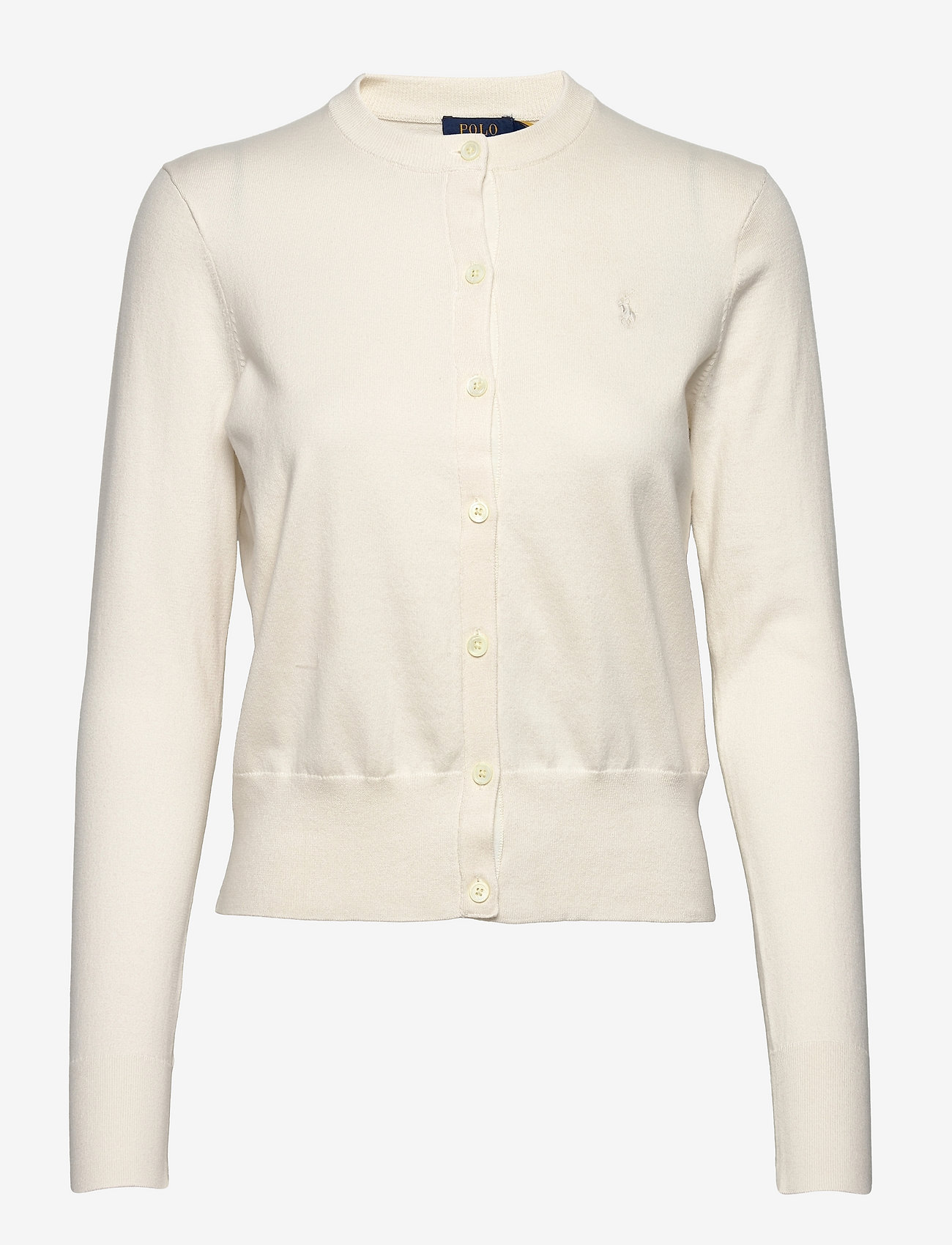 Polo Ralph Lauren - Cotton Cardigan - swetry rozpinane - collection cream - 0