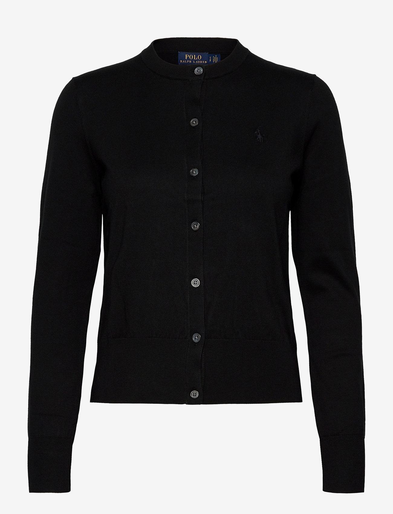 Polo Ralph Lauren - Cotton Cardigan - cardigans - polo black - 0