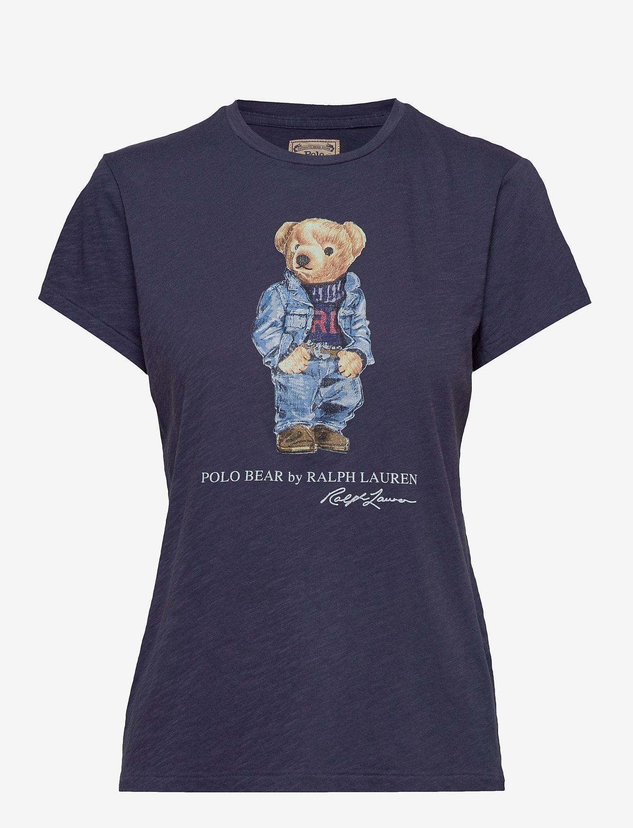 Polo Ralph Lauren - Polo Bear Crewneck Tee - t-shirty - classic royal - 0