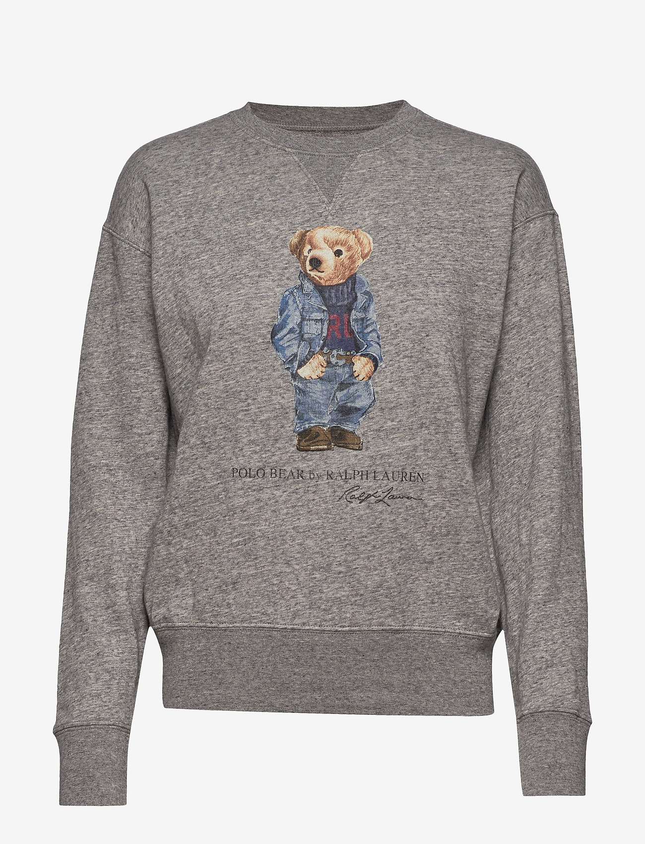 Polo Ralph Lauren - Polo Bear Fleece Sweatshirt - sweatshirts - dark vintage heat - 0