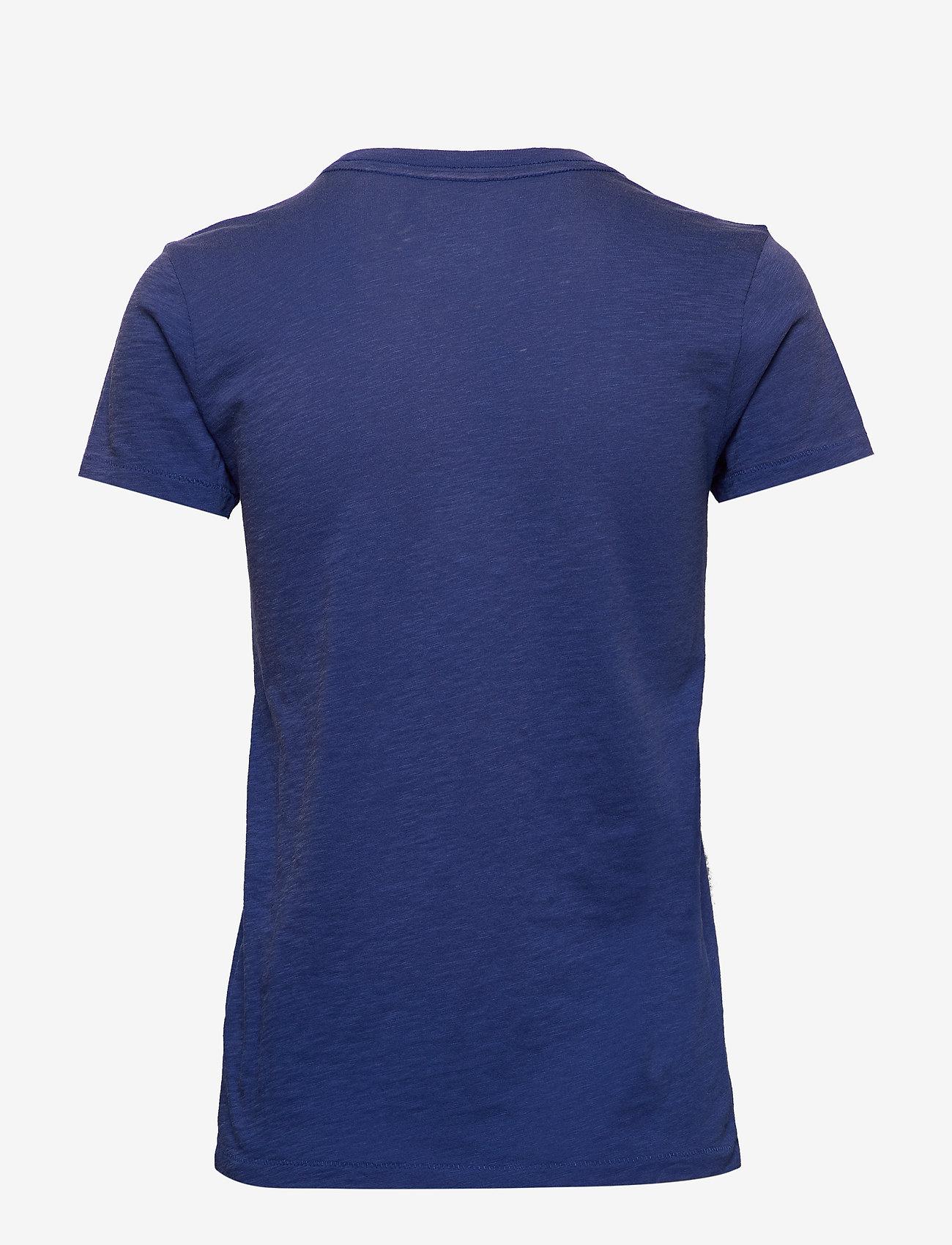 Polo Ralph Lauren - Polo Bear Patch Jersey Tee - logo t-shirts - royal navy - 1
