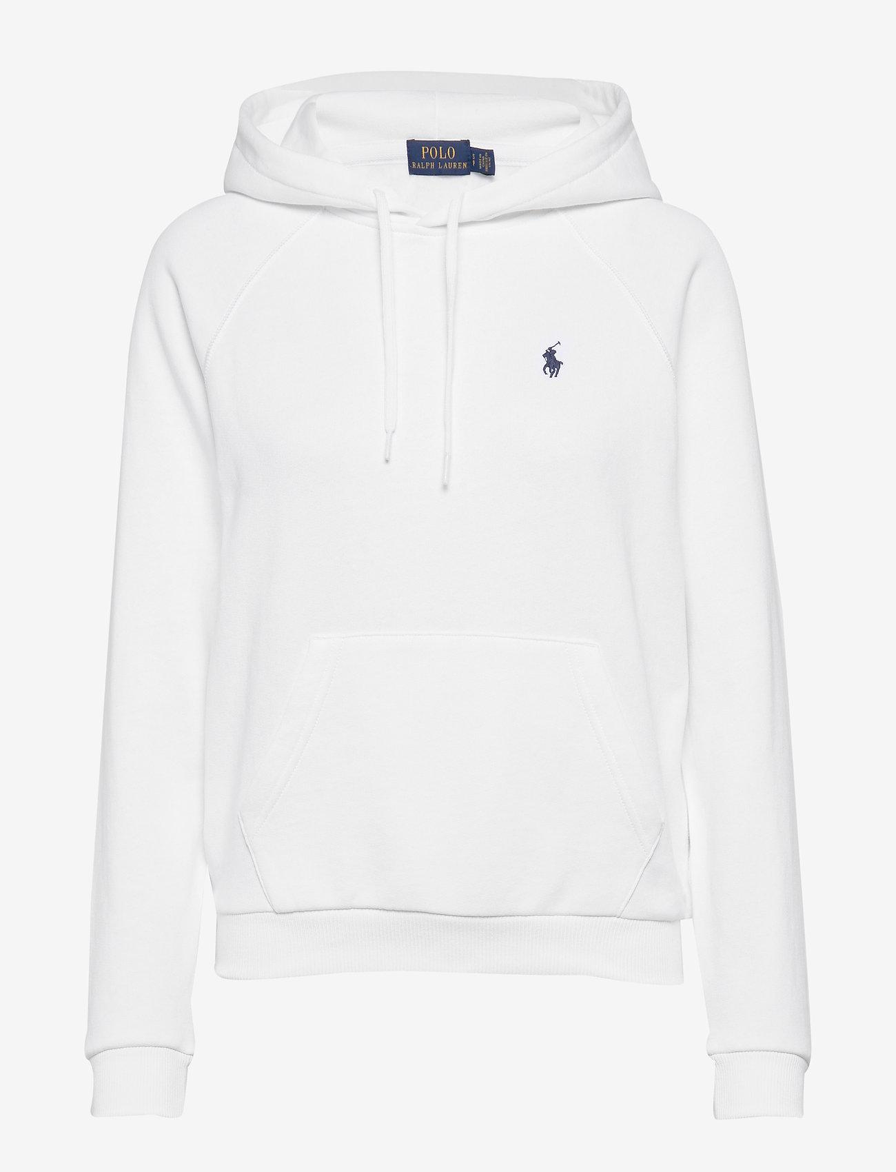 Polo Ralph Lauren - Fleece Pullover Hoodie - hoodies - white - 0