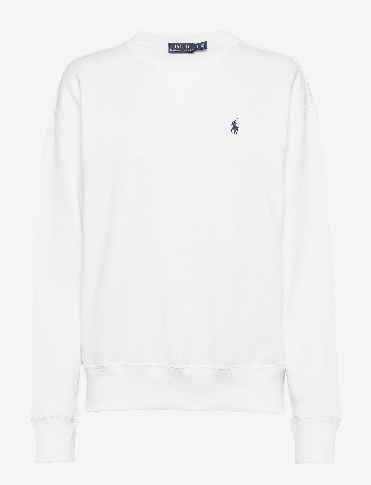 Polo Ralph Lauren - Fleece Pullover - sweatshirts - white - 0