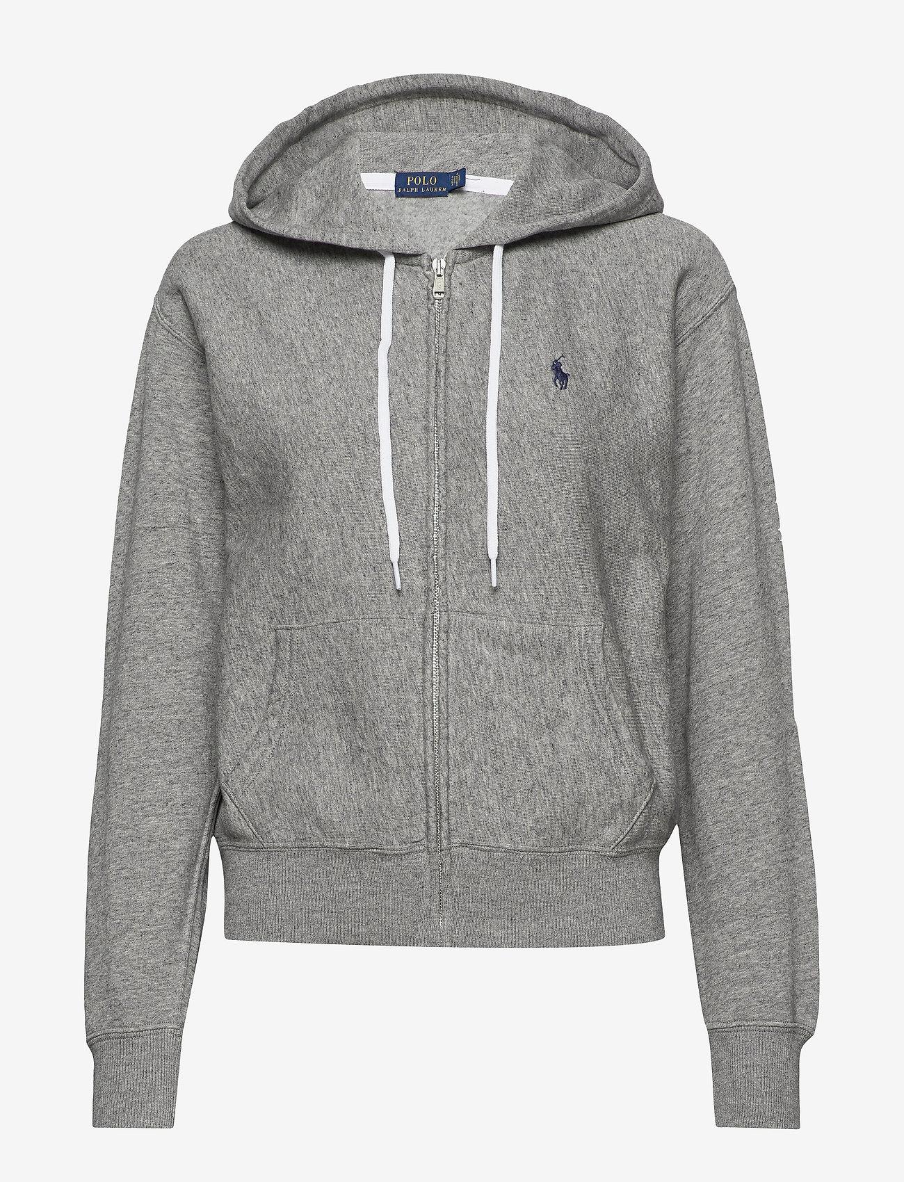 Polo Ralph Lauren - Fleece Full-Zip Hoodie - hoodies - dark vintage heat - 0