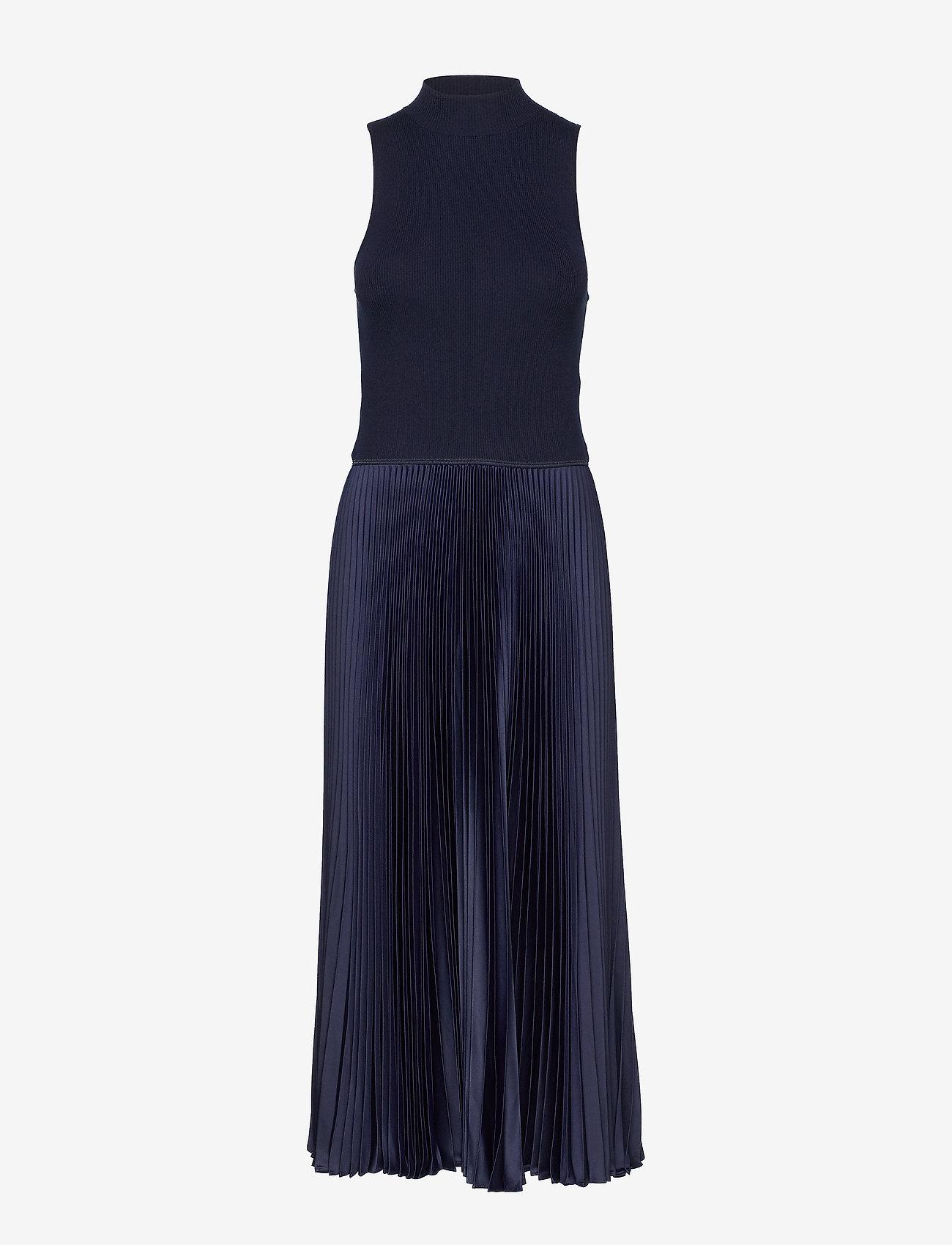 Polo Ralph Lauren - Sleeveless Mockneck Dress - evening dresses - hunter navy - 0