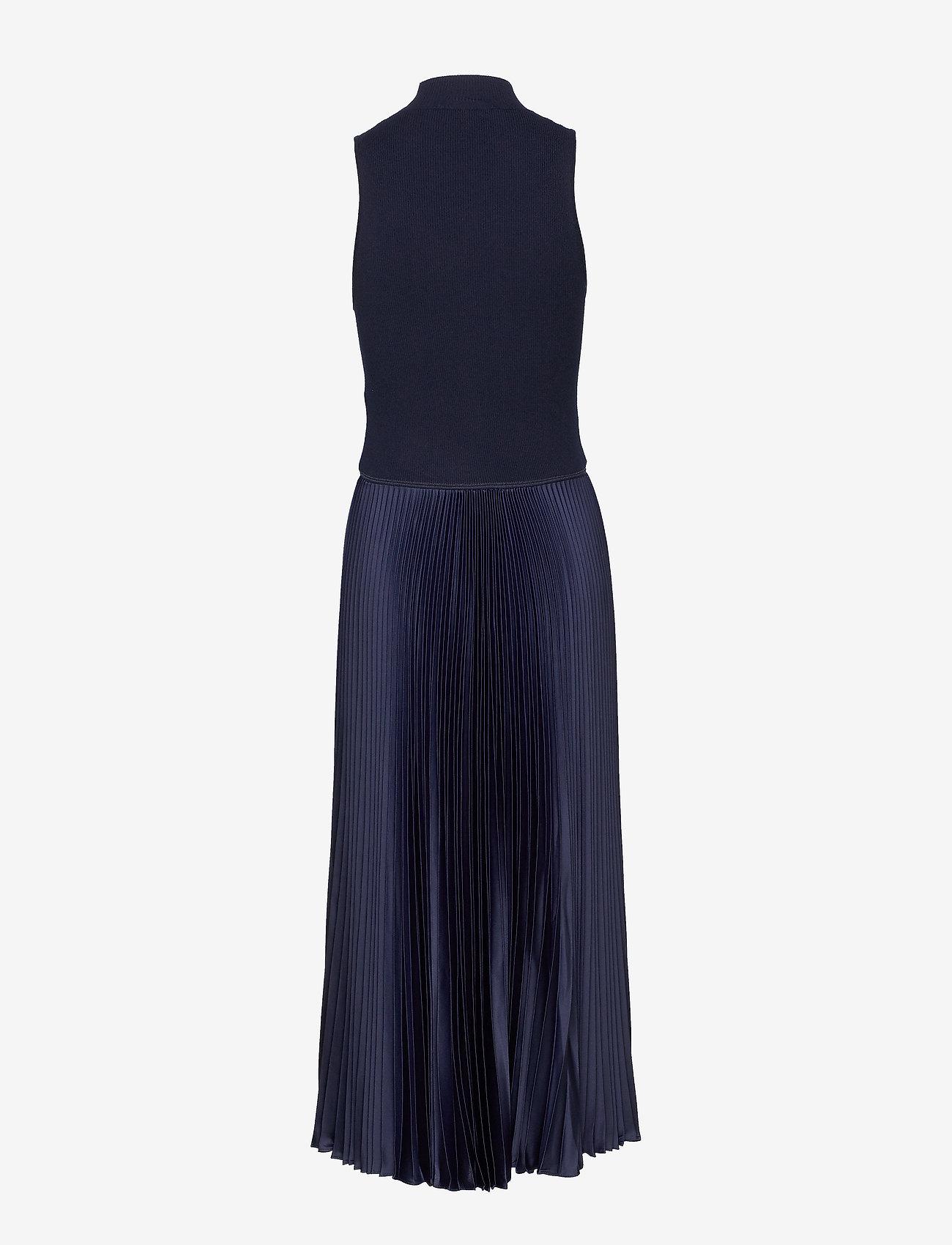 Polo Ralph Lauren - Sleeveless Mockneck Dress - evening dresses - hunter navy - 1