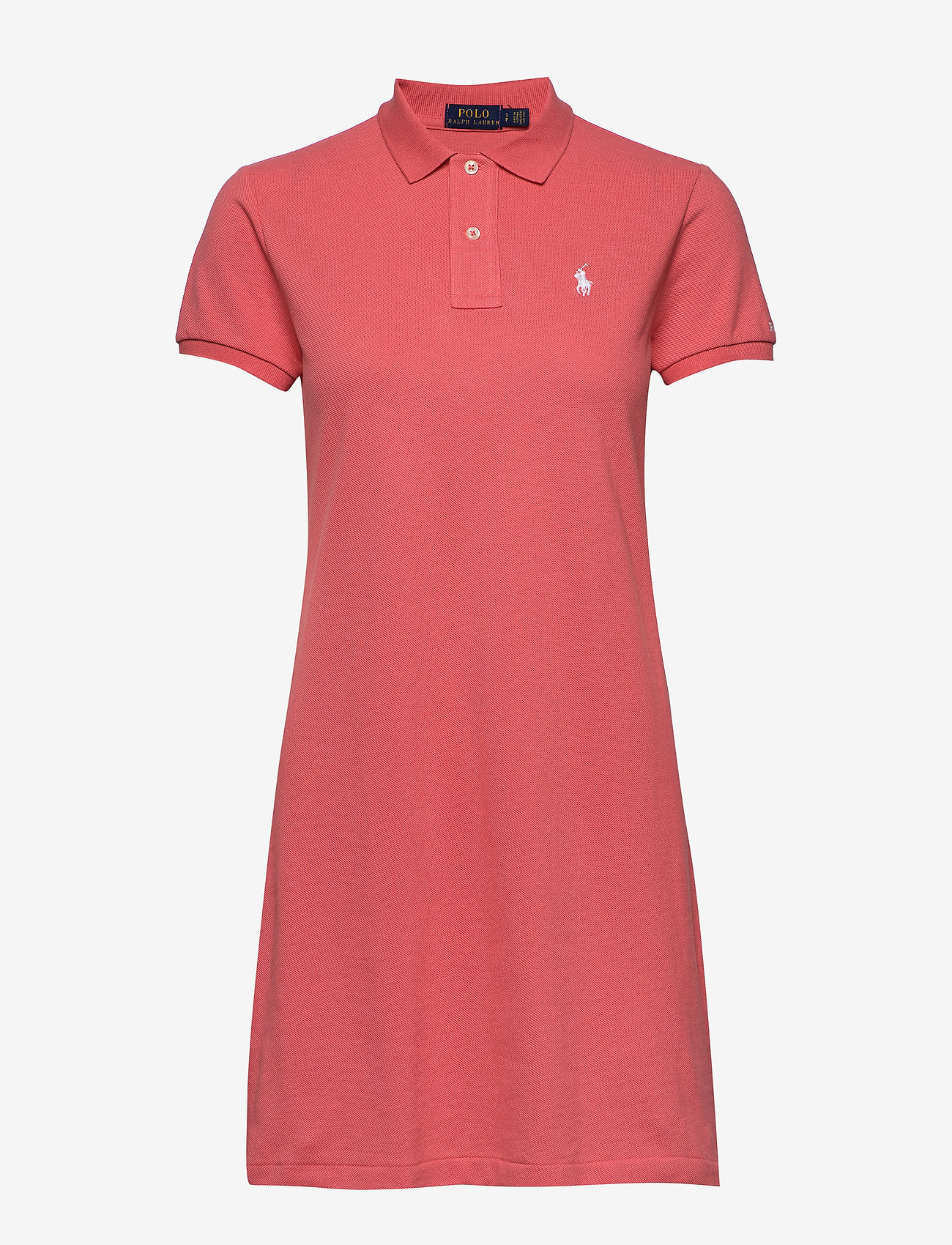 Polo Ralph Lauren - Cotton Polo Dress - short dresses - amalfi red