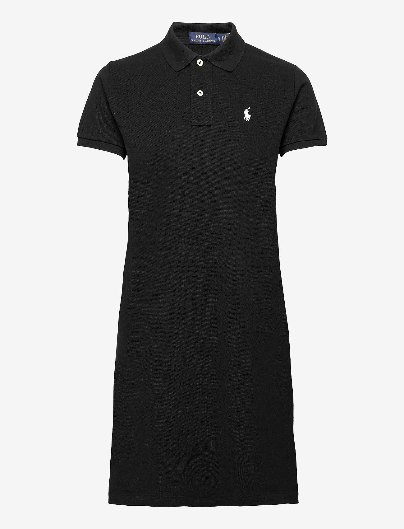 Polo Ralph Lauren - Cotton Polo Dress - hverdagskjoler - polo black/c1740 - 1