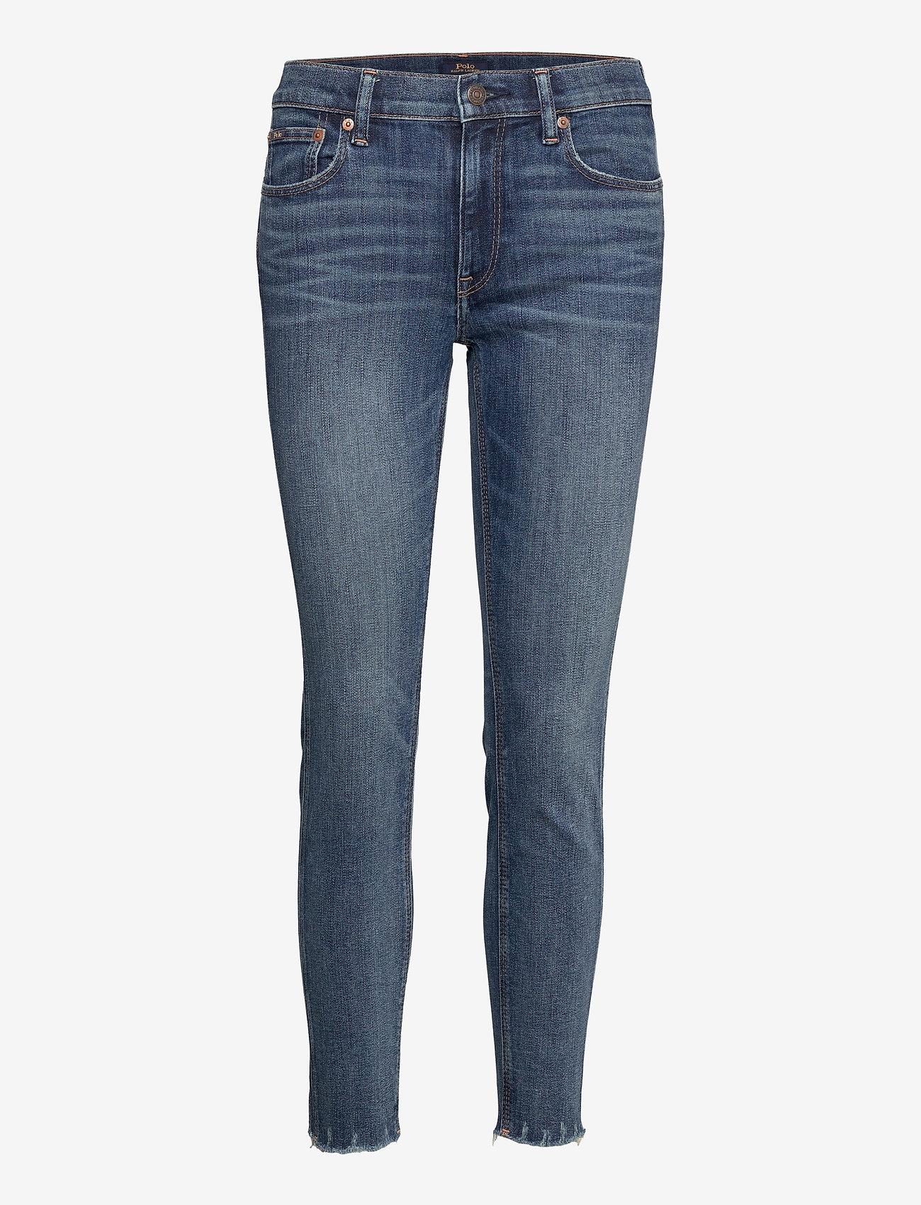 Polo Ralph Lauren - Tompkins Skinny Crop Jean - skinny jeans - medium indigo - 1