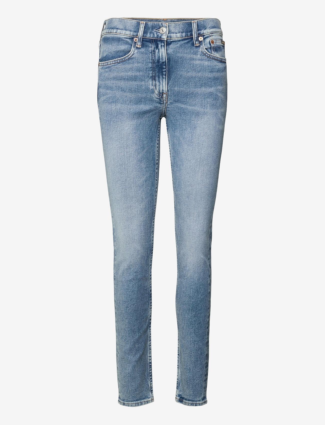 Polo Ralph Lauren - Tompkins Skinny Jean - skinny jeans - light indigo - 0