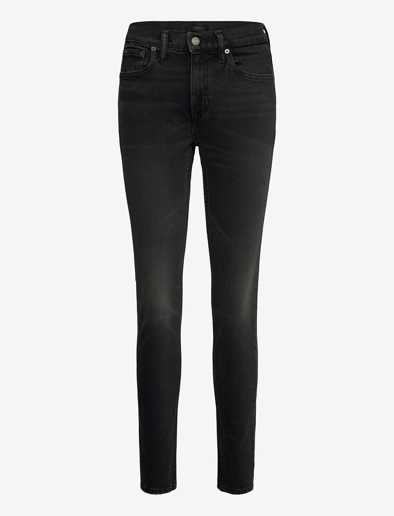 Polo Ralph Lauren - Tompkins Skinny Jean - skinny jeans - washed black - 1