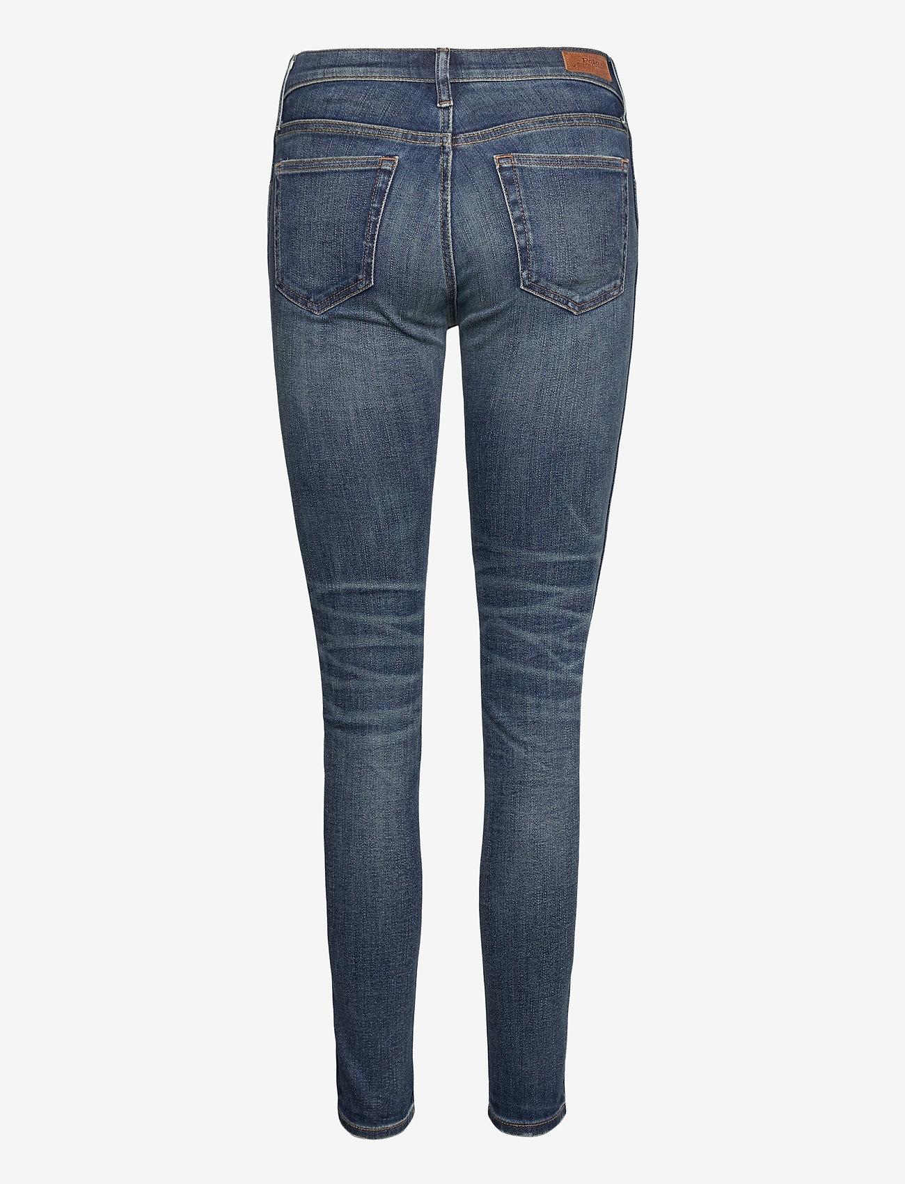 Polo Ralph Lauren - Tompkins Skinny Crop Jean - slim jeans - dark indigo - 1