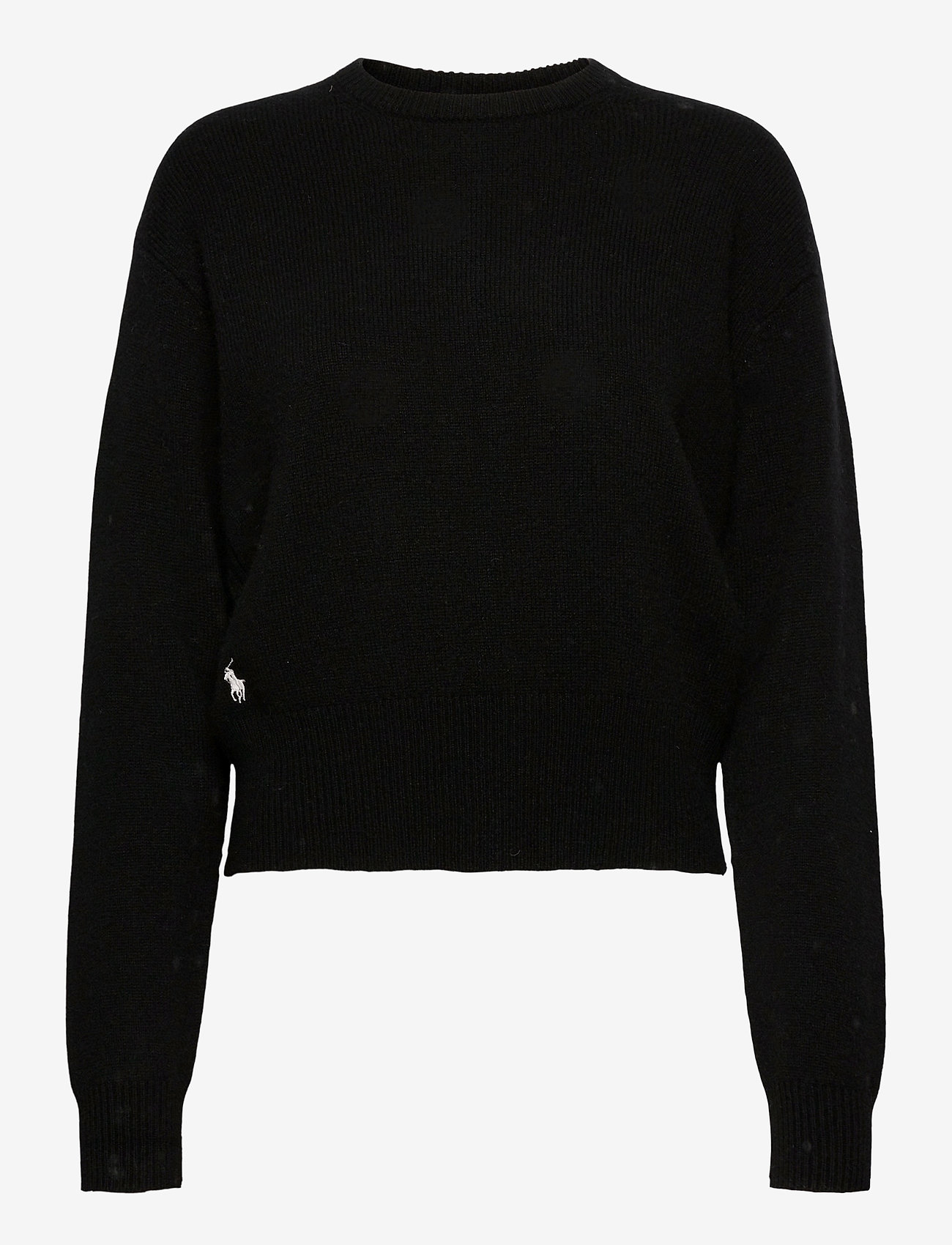 Polo Ralph Lauren - Wool-Blend Crewneck Sweater - jumpers - polo black - 0
