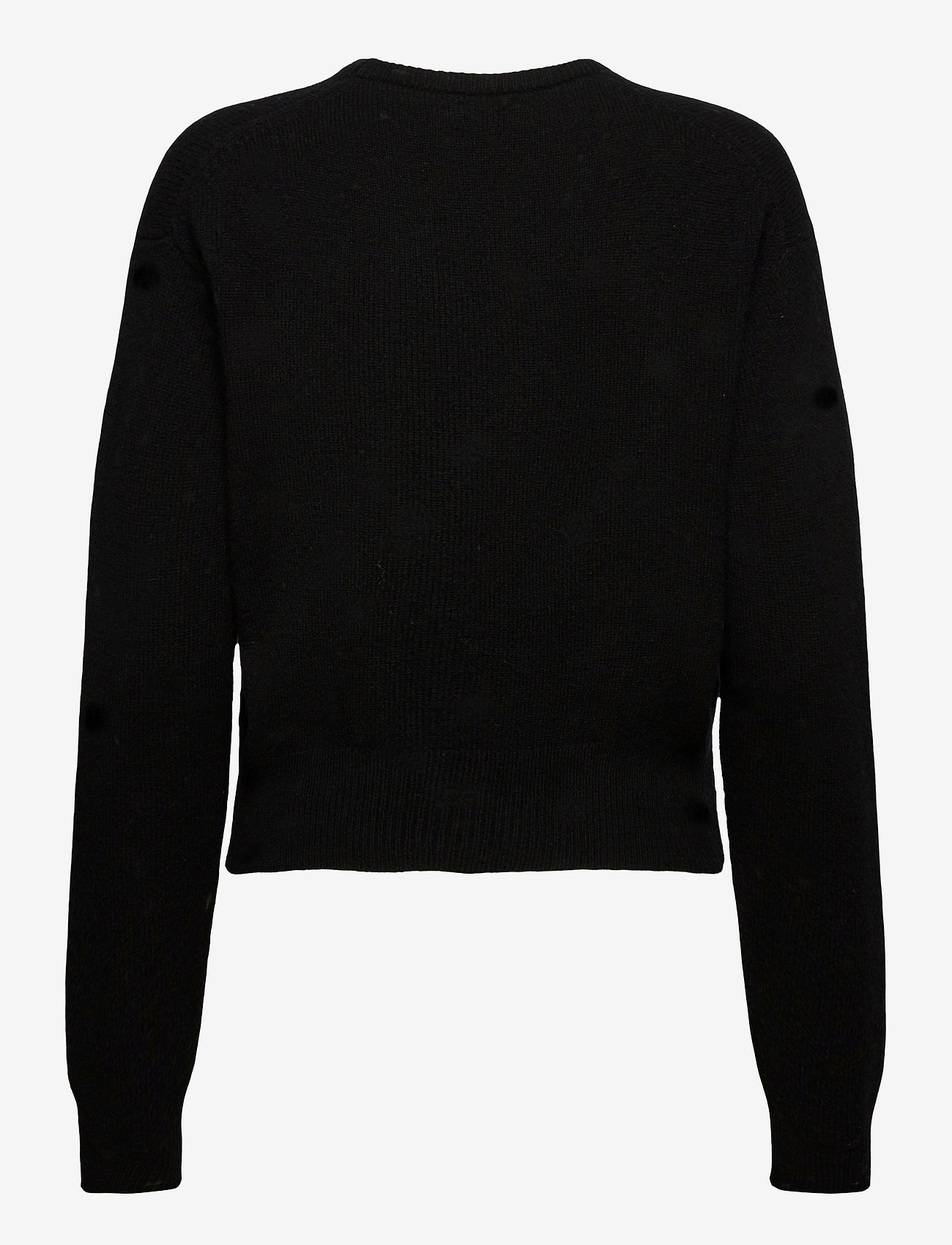Polo Ralph Lauren - Wool-Blend Crewneck Sweater - jumpers - polo black - 1