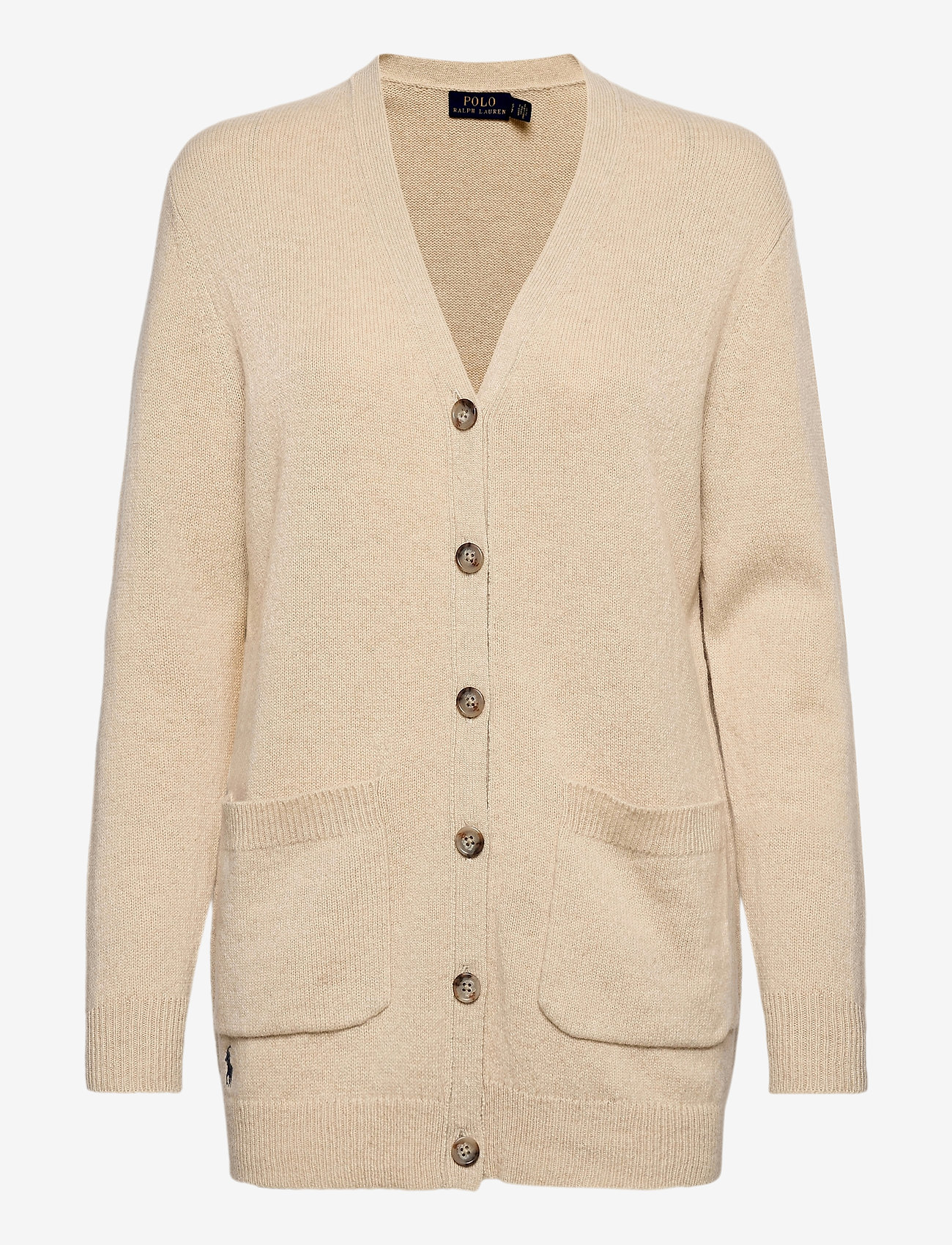 Polo Ralph Lauren - Wool-Blend Cardigan - cardigans - tallow cream heat - 0