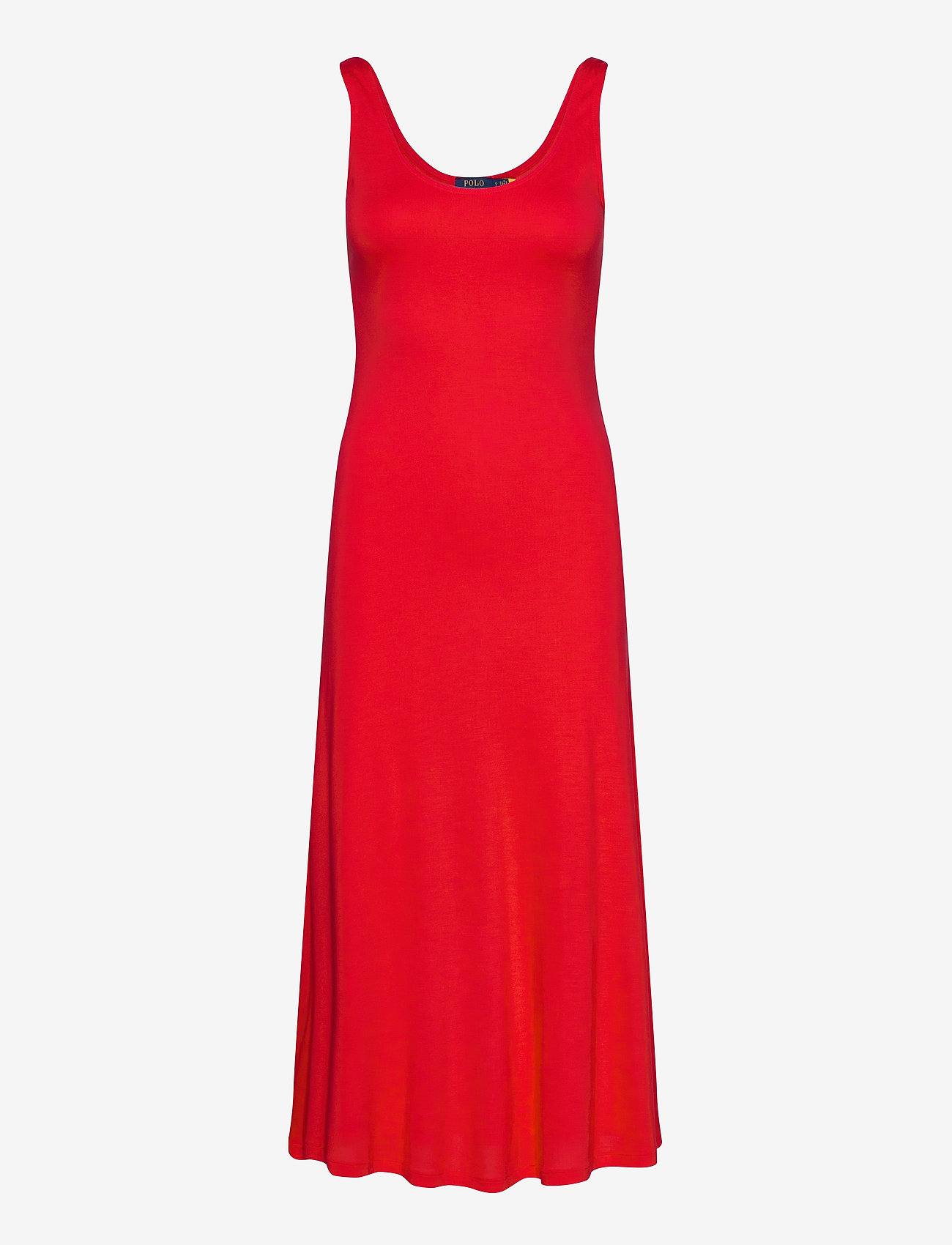 Polo Ralph Lauren - Jersey Sleeveless Dress - everyday dresses - african red - 1