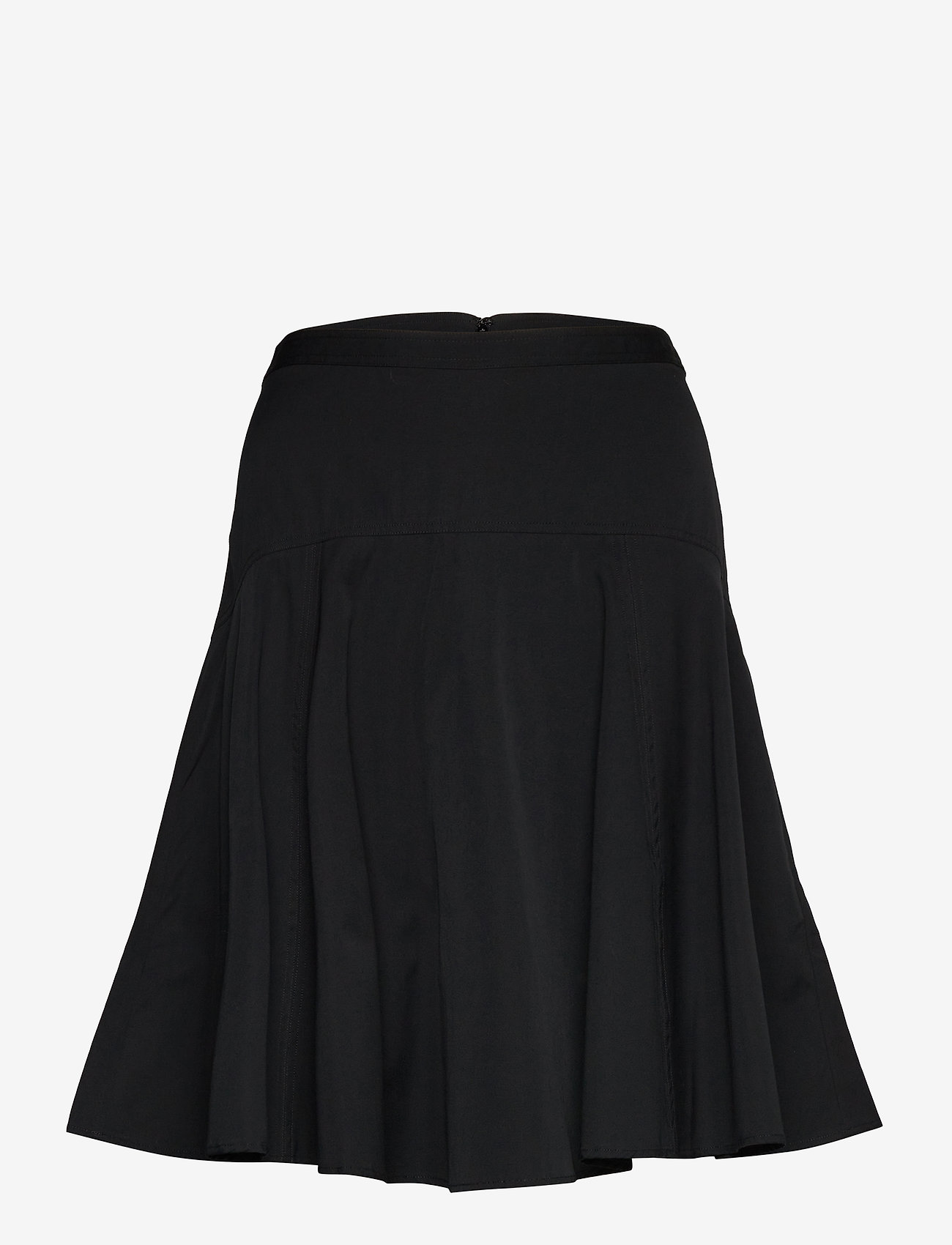 Polo Ralph Lauren - Cotton Broadcloth Skirt - midi skirts - polo black - 1