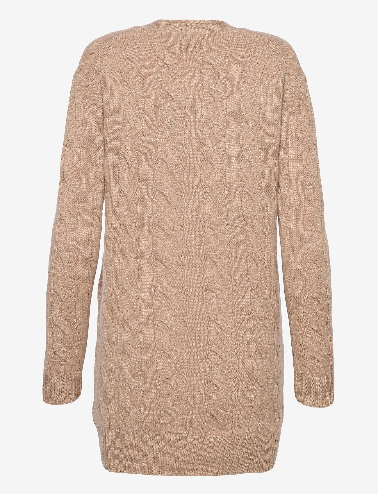 Polo Ralph Lauren - Cable-Knit Cashmere Cardigan - cardigans - luxury beige heat - 1