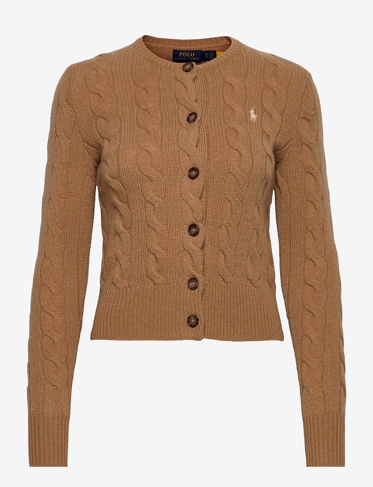 Polo Ralph Lauren - Buttoned Wool-Blend Cardigan - cardigans - collection camel - 0