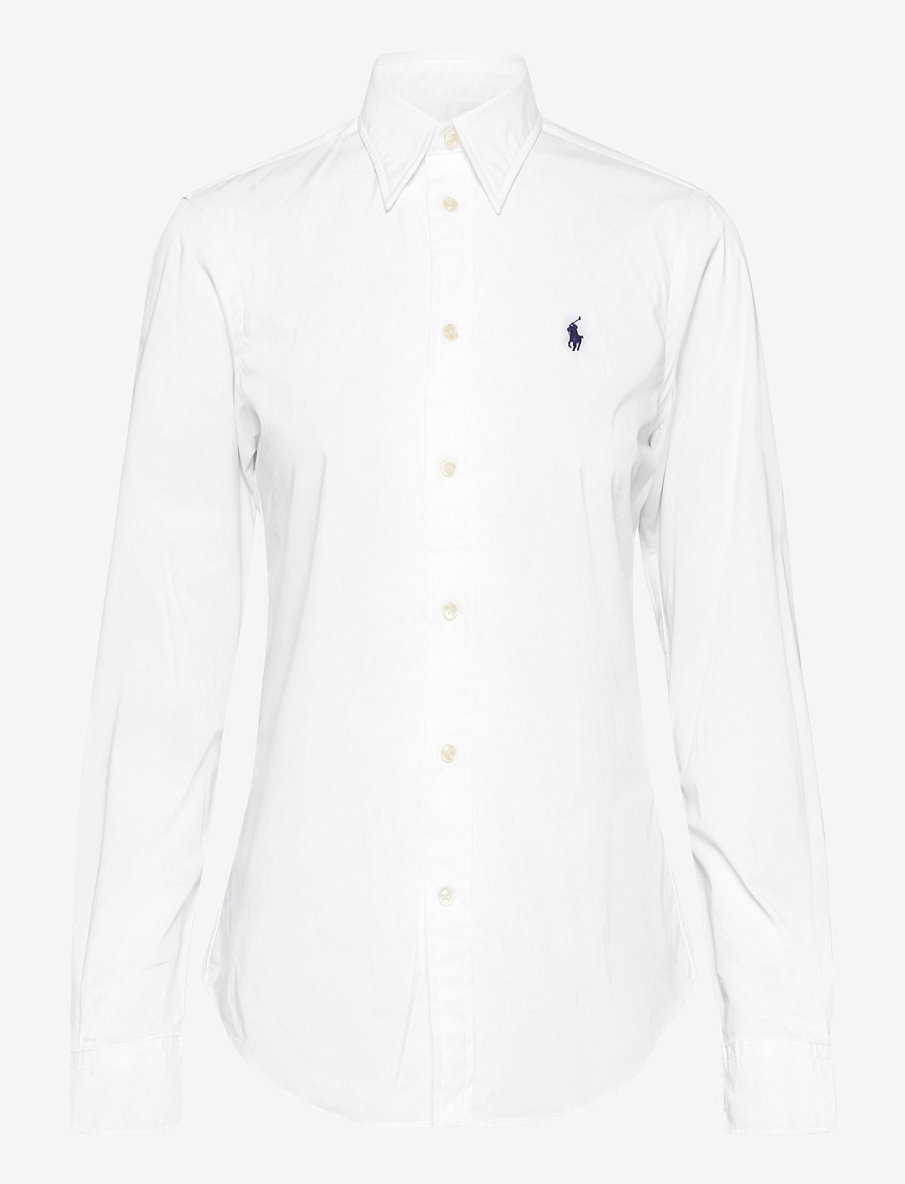 Polo Ralph Lauren - Polo Cotton Cloth Mask - long-sleeved shirts - white - 0