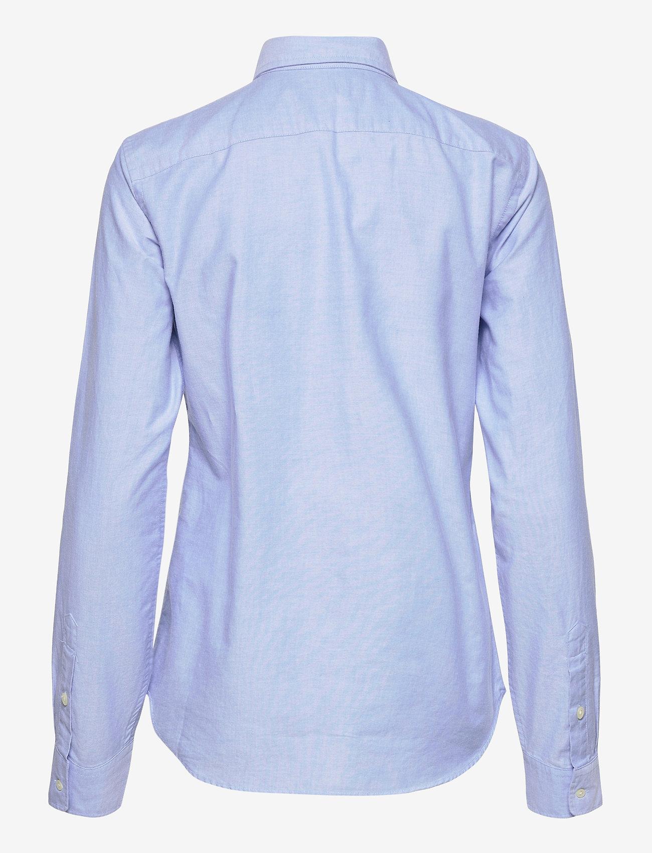 Polo Ralph Lauren - LT WT OXFORD-LSL-SHT - long-sleeved shirts - blue hyacinth - 1