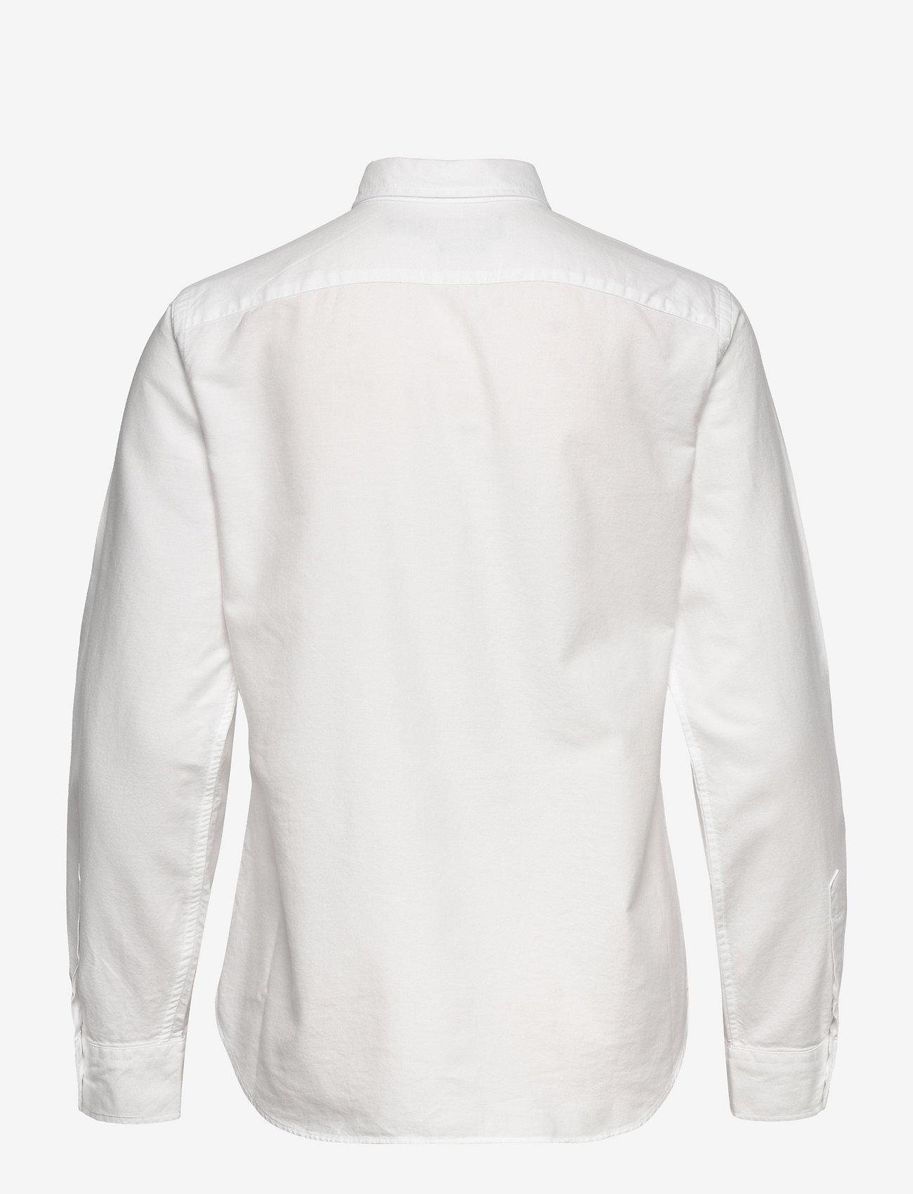 Polo Ralph Lauren - LT WT OXFORD-LSL-SHT - long-sleeved shirts - bsr white - 1