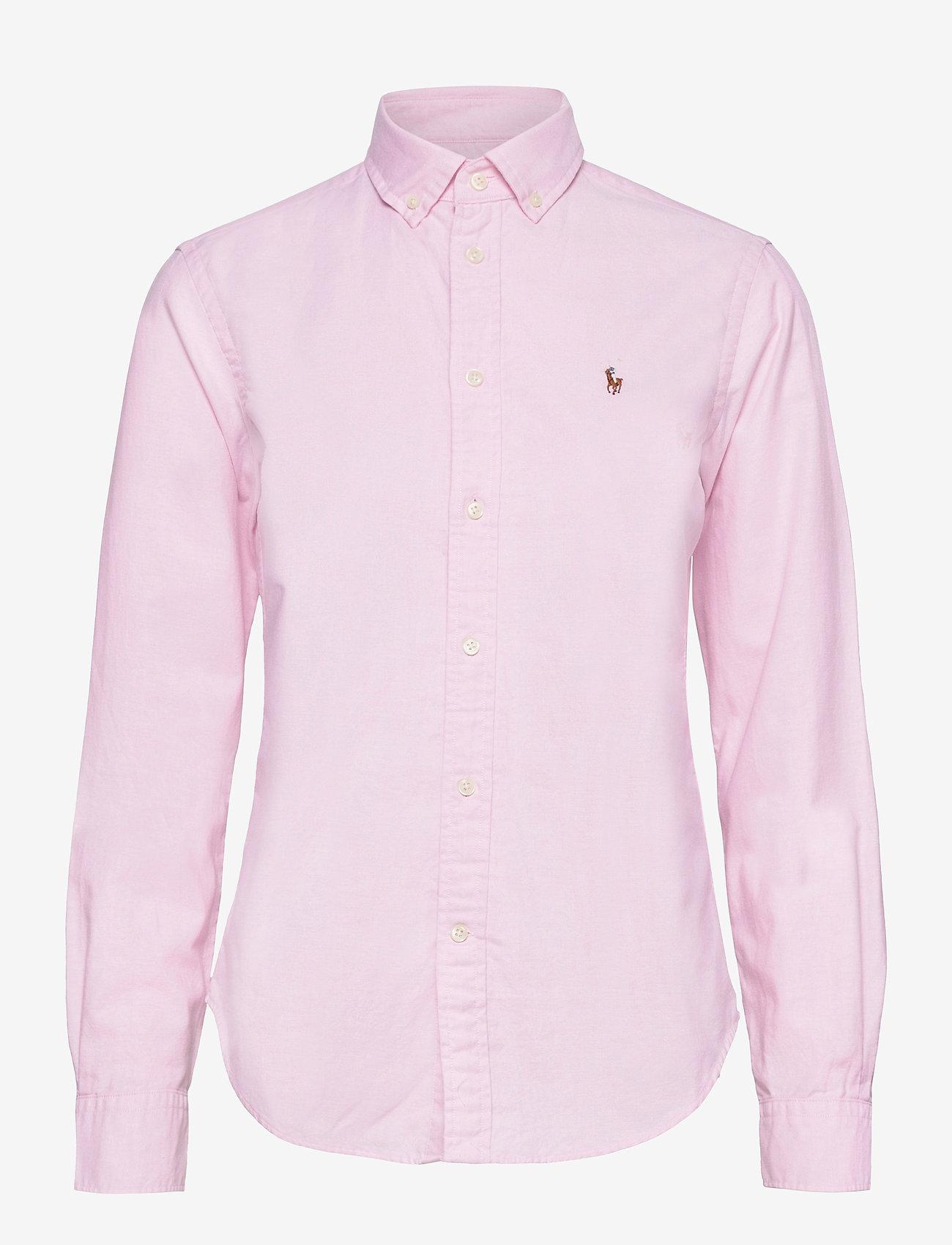 Polo Ralph Lauren - LT WT OXFORD-LSL-SHT - long-sleeved shirts - deco pink - 0