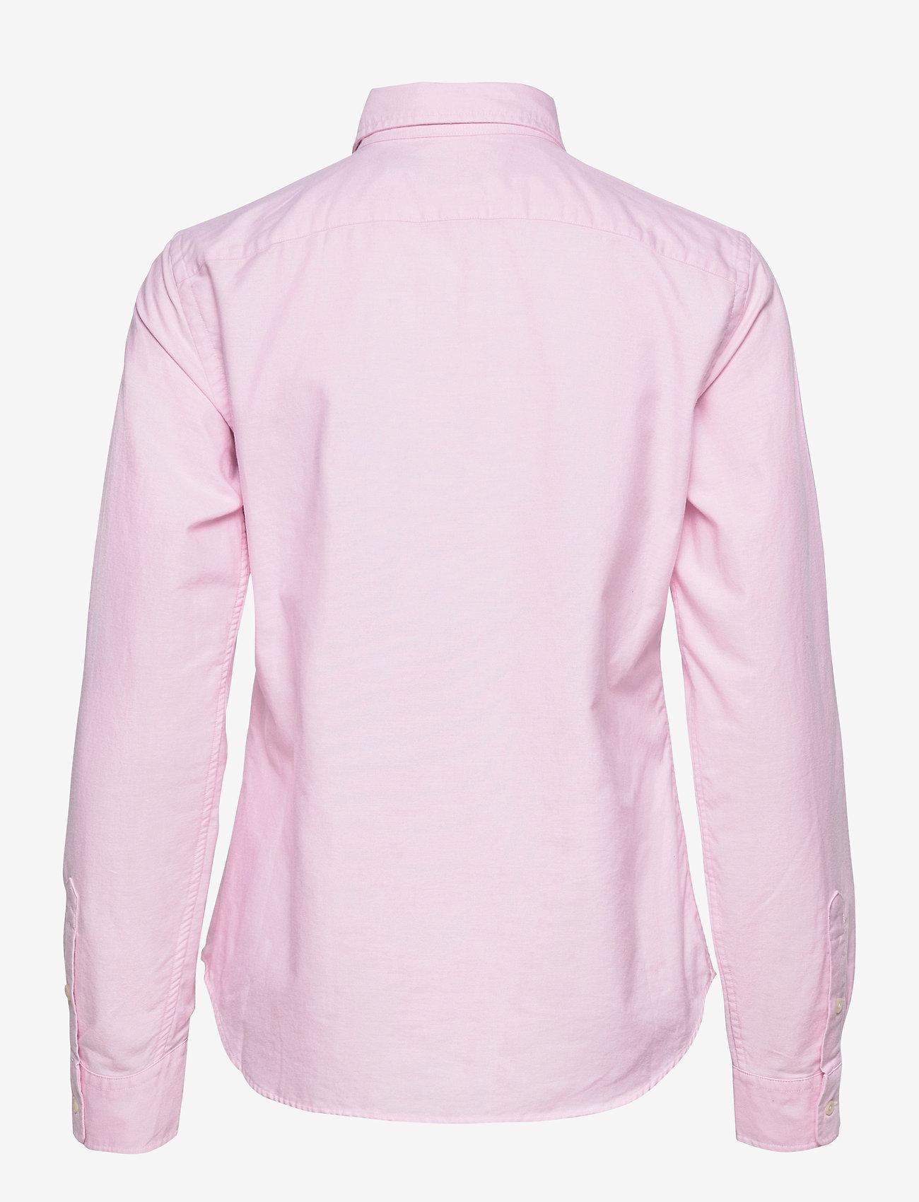 Polo Ralph Lauren - LT WT OXFORD-LSL-SHT - long-sleeved shirts - deco pink - 1