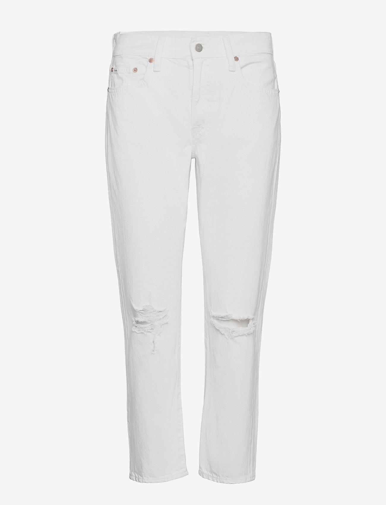 Polo Ralph Lauren - Avery Boyfriend Jean - boyfriend jeans - white - 0