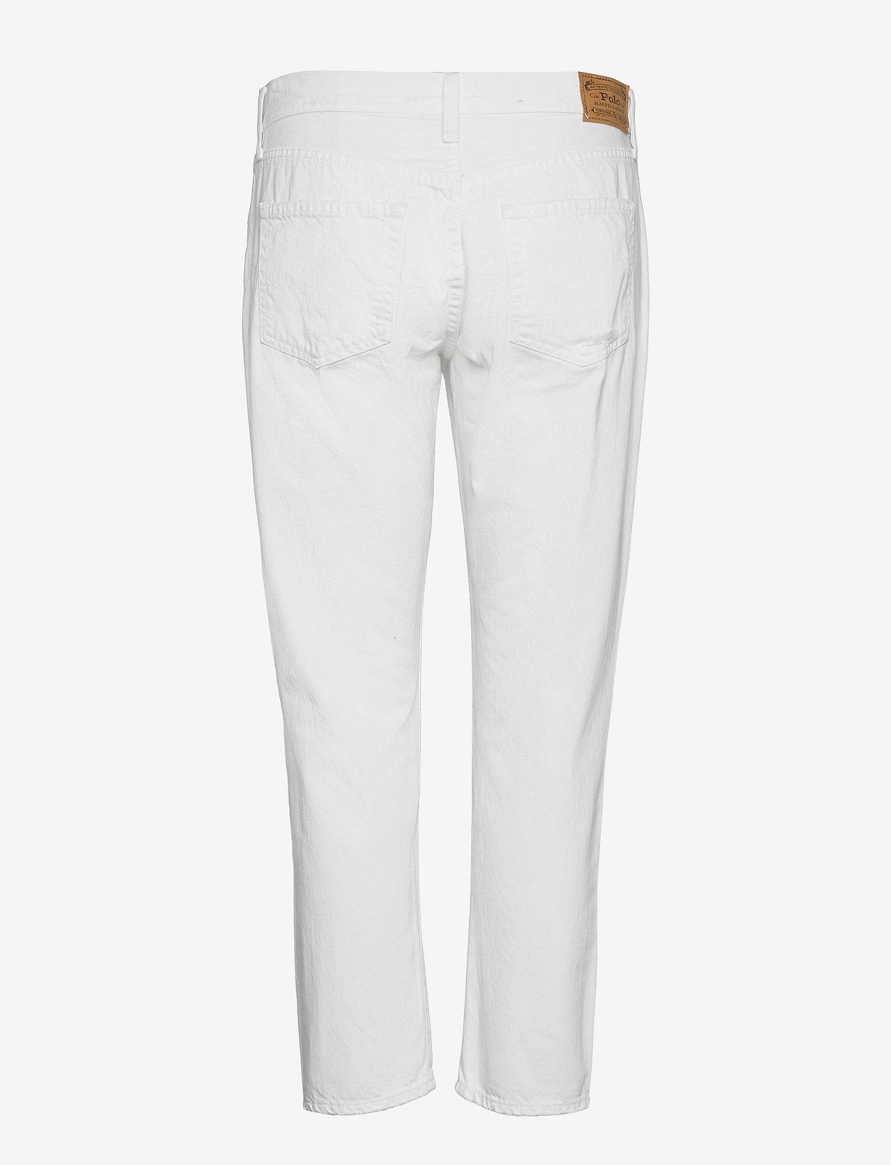 Polo Ralph Lauren - Avery Boyfriend Jean - boyfriend jeans - white - 1