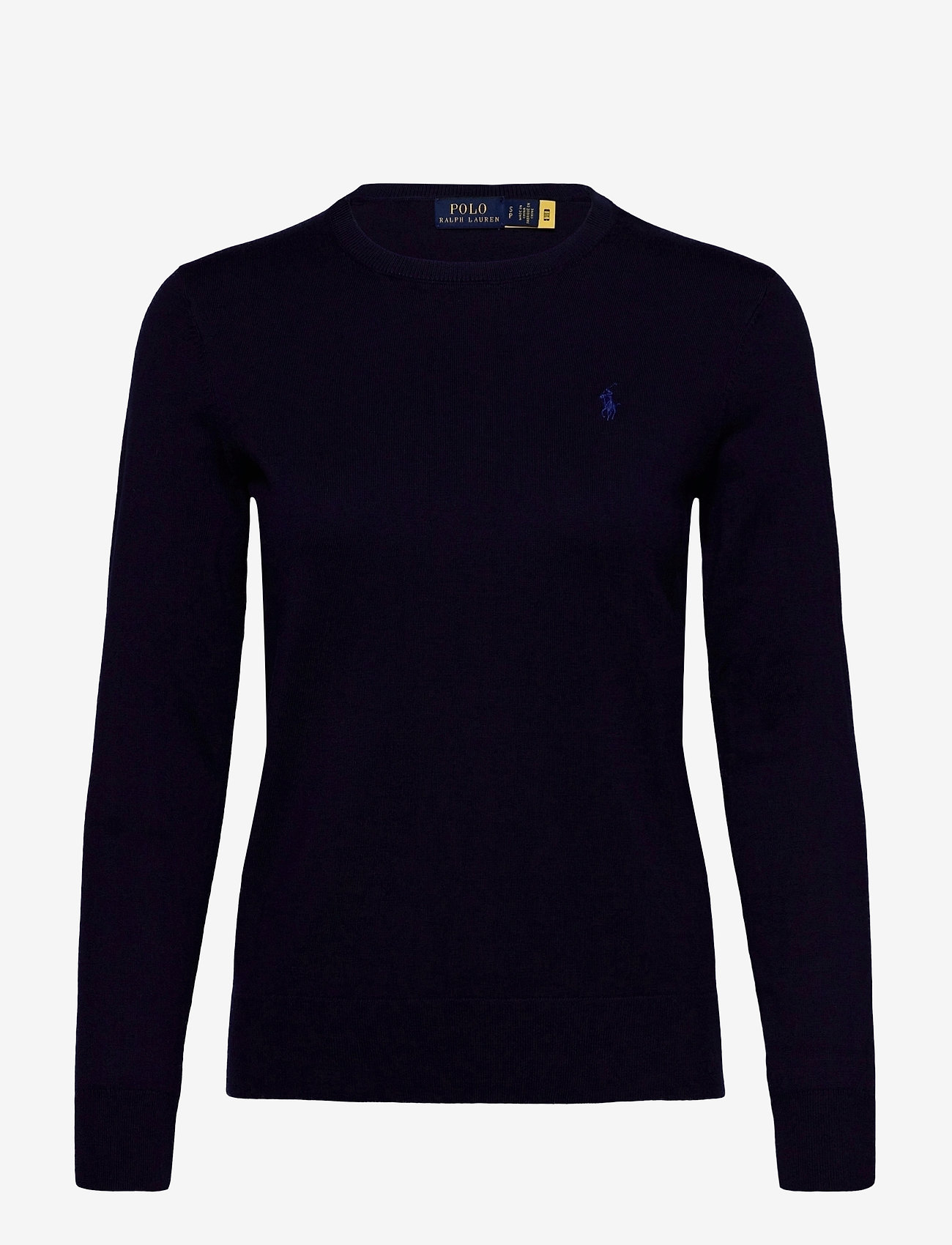 Polo Ralph Lauren - PIMA JSY STRETCH-LSL-SWT - jumpers - bright navy - 1