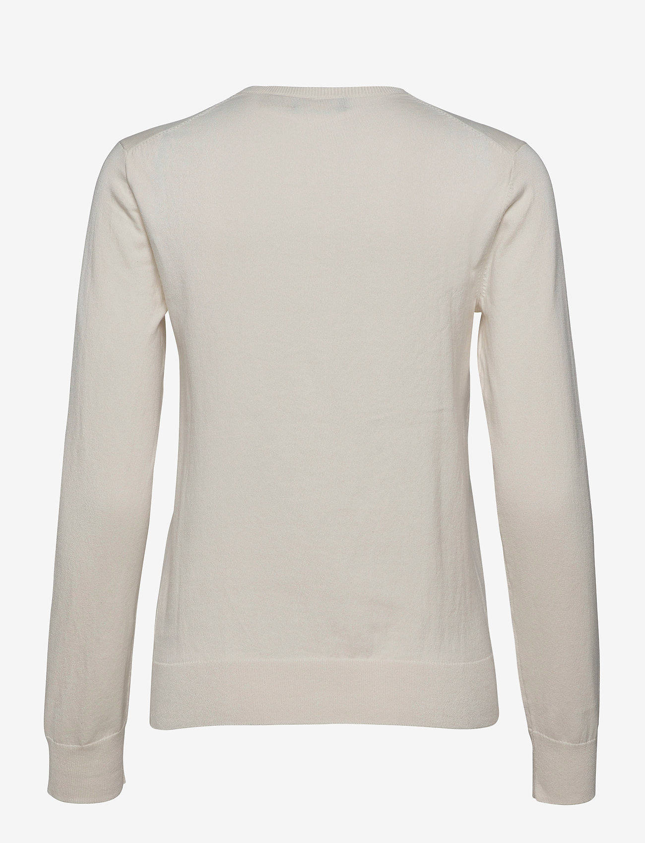 Polo Ralph Lauren - PIMA JSY STRETCH-LSL-SWT - jumpers - collection cream - 1