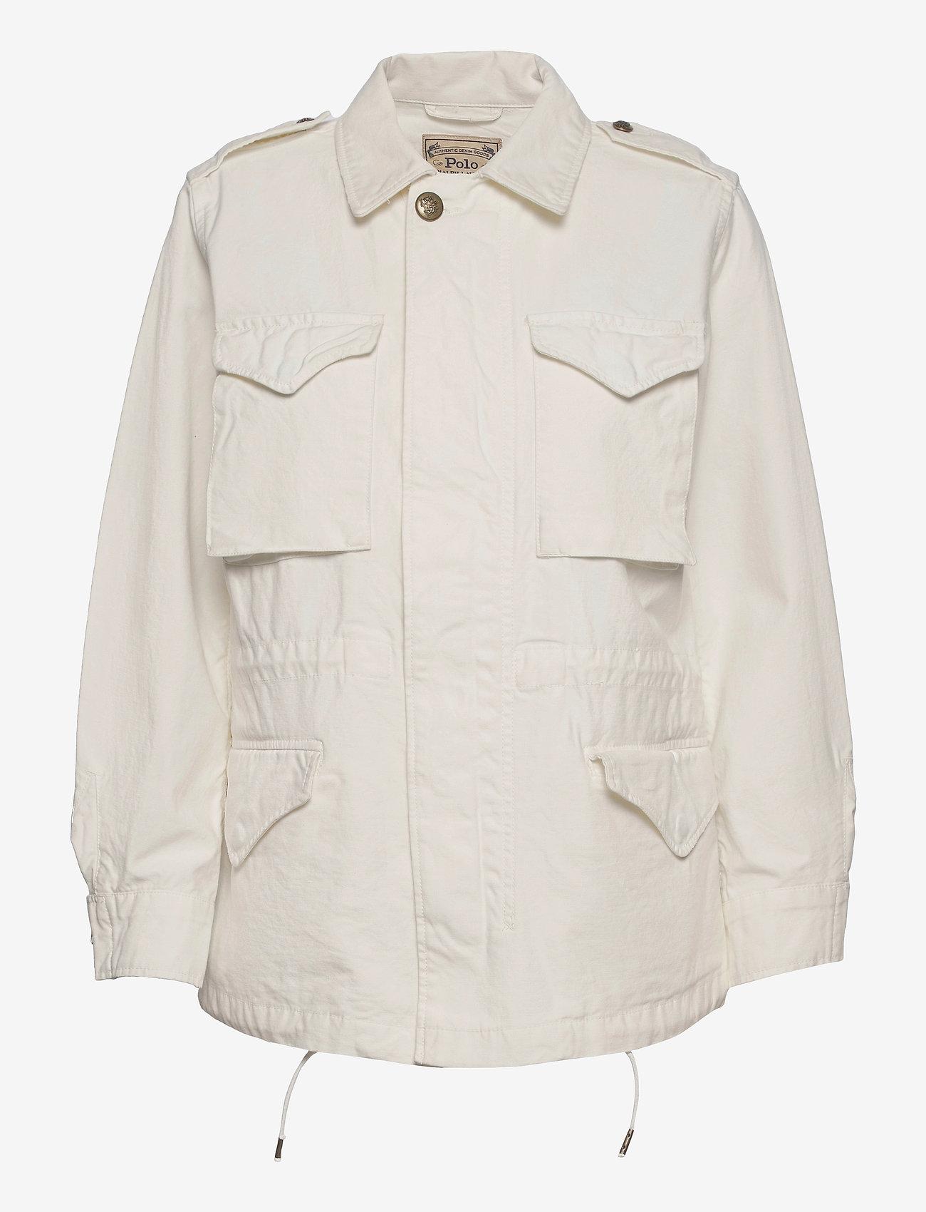 Polo Ralph Lauren - Surplus Cotton Twill Jacket - lette jakker - clubhouse cream - 1