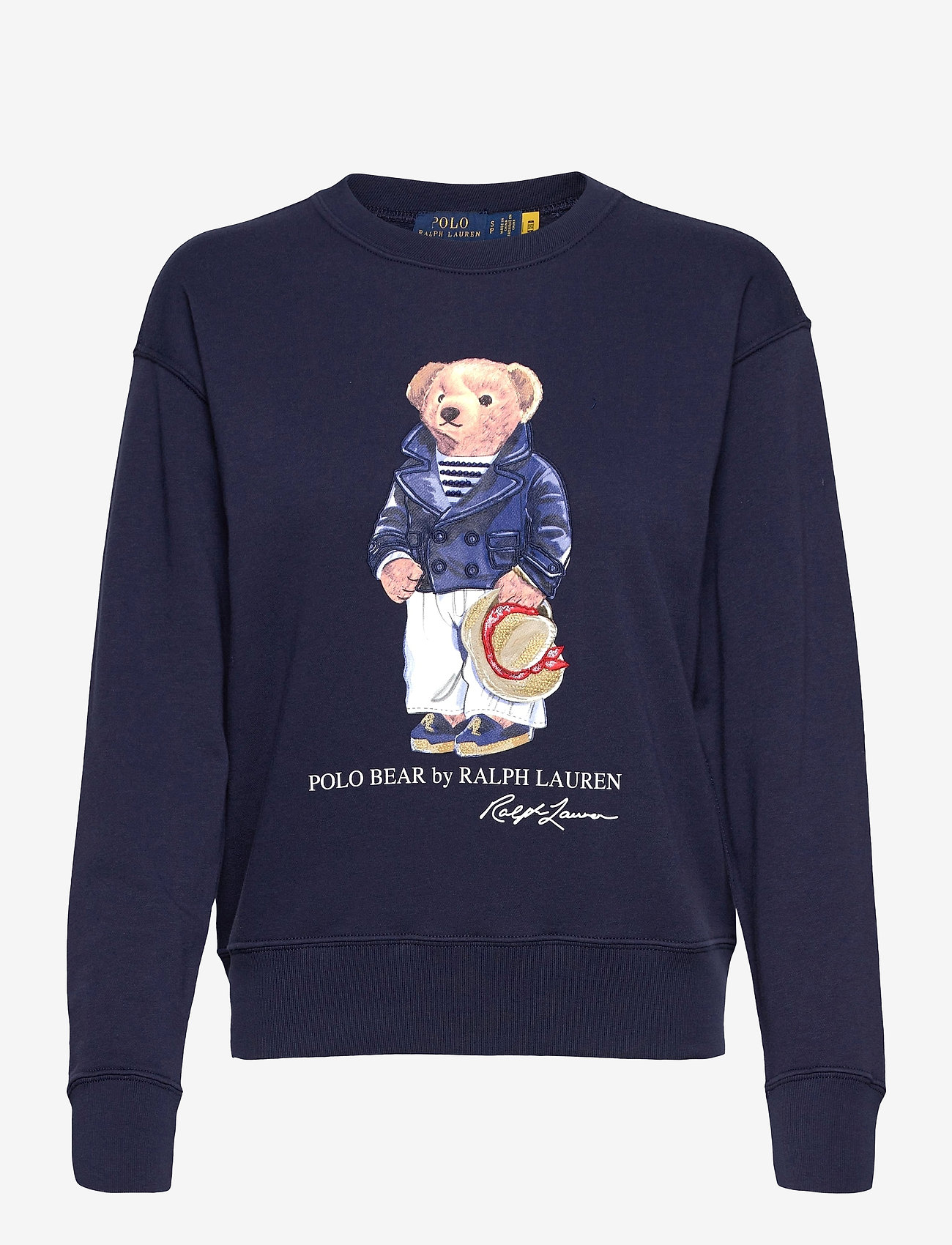 Polo Ralph Lauren - Polo Bear Fleece Sweatshirt - sweatshirts - cruise navy - 1