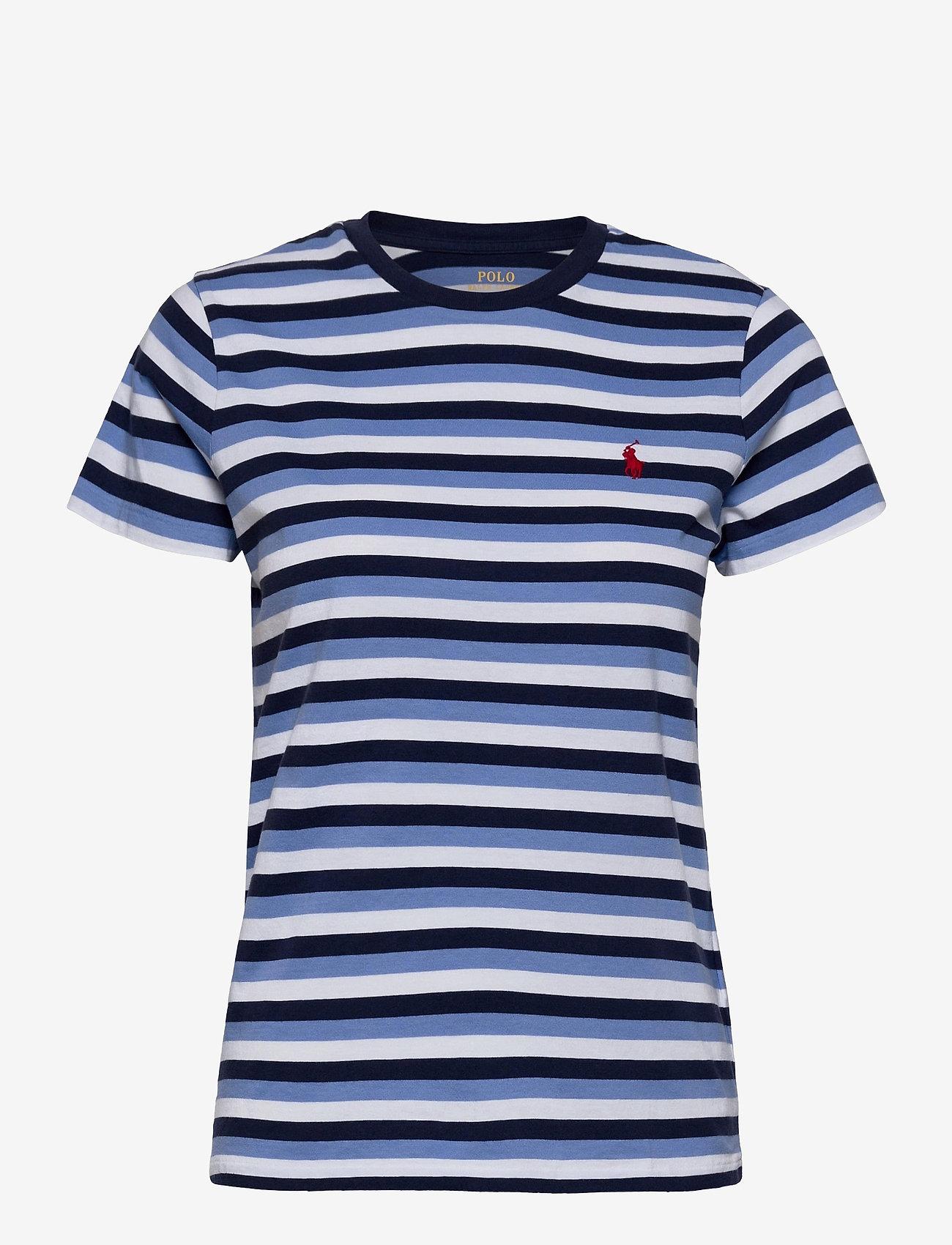 Polo Ralph Lauren - Striped Cotton Tee - t-shirts - blue/navy/white - 1