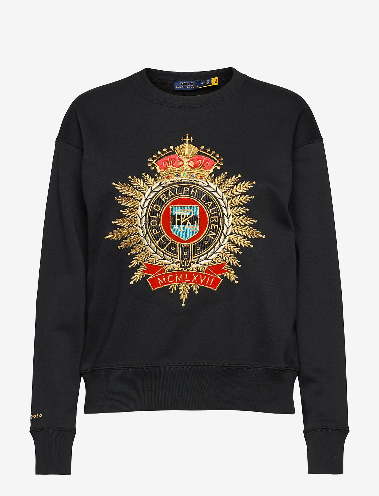 Polo Ralph Lauren - Lunar New Year Crest Sweatshirt - sweatshirts - polo black - 0