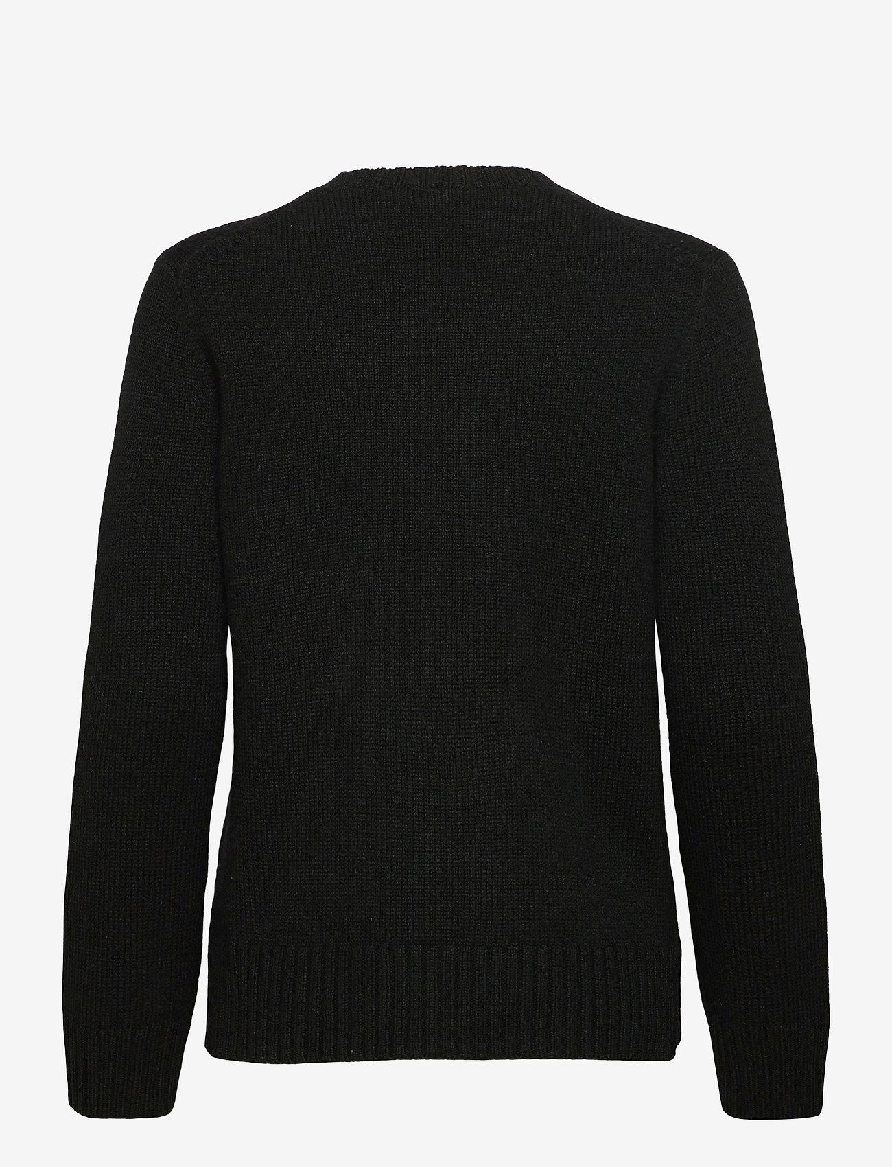 Polo Ralph Lauren - Lunar New Year Polo Bear Sweater - trøjer - polo black - 1