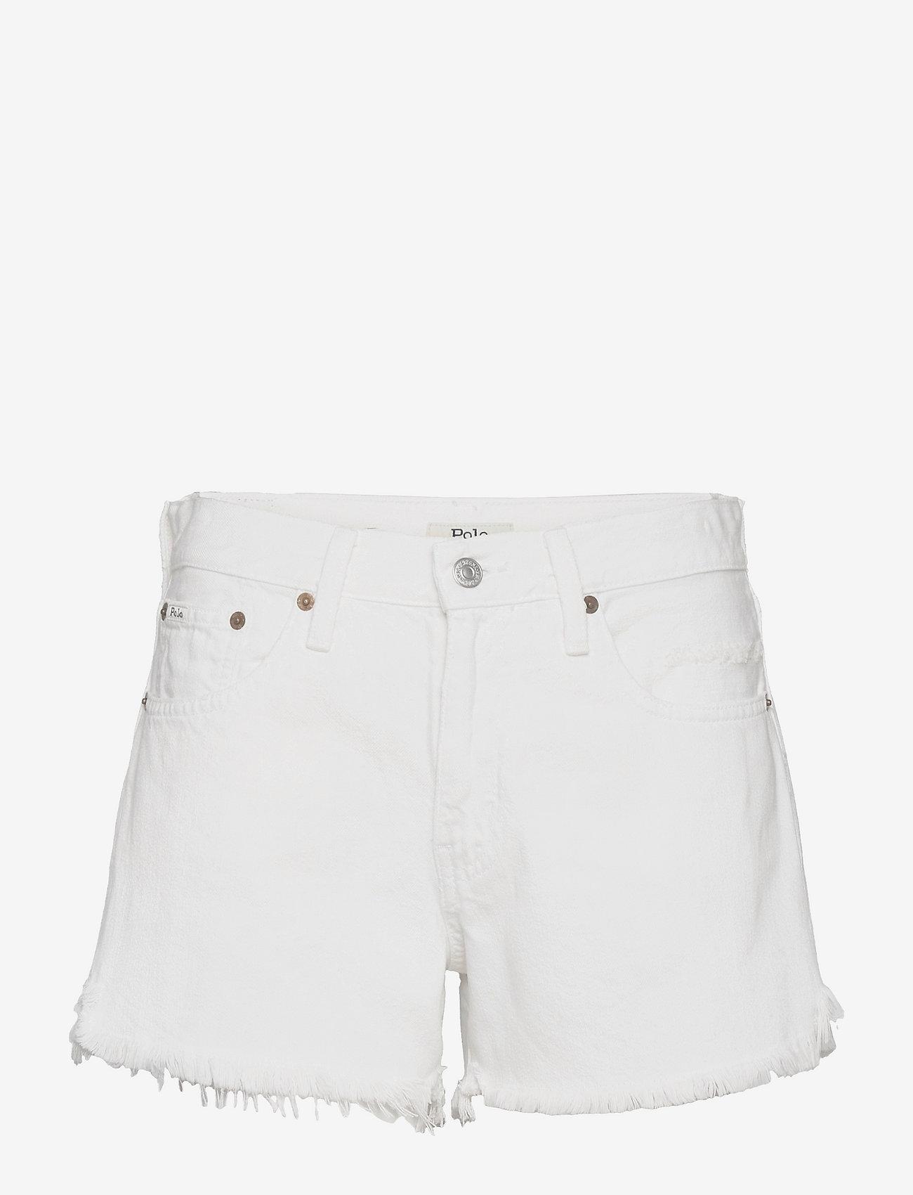 Polo Ralph Lauren - Sophia Denim Short - denimshorts - white - 0
