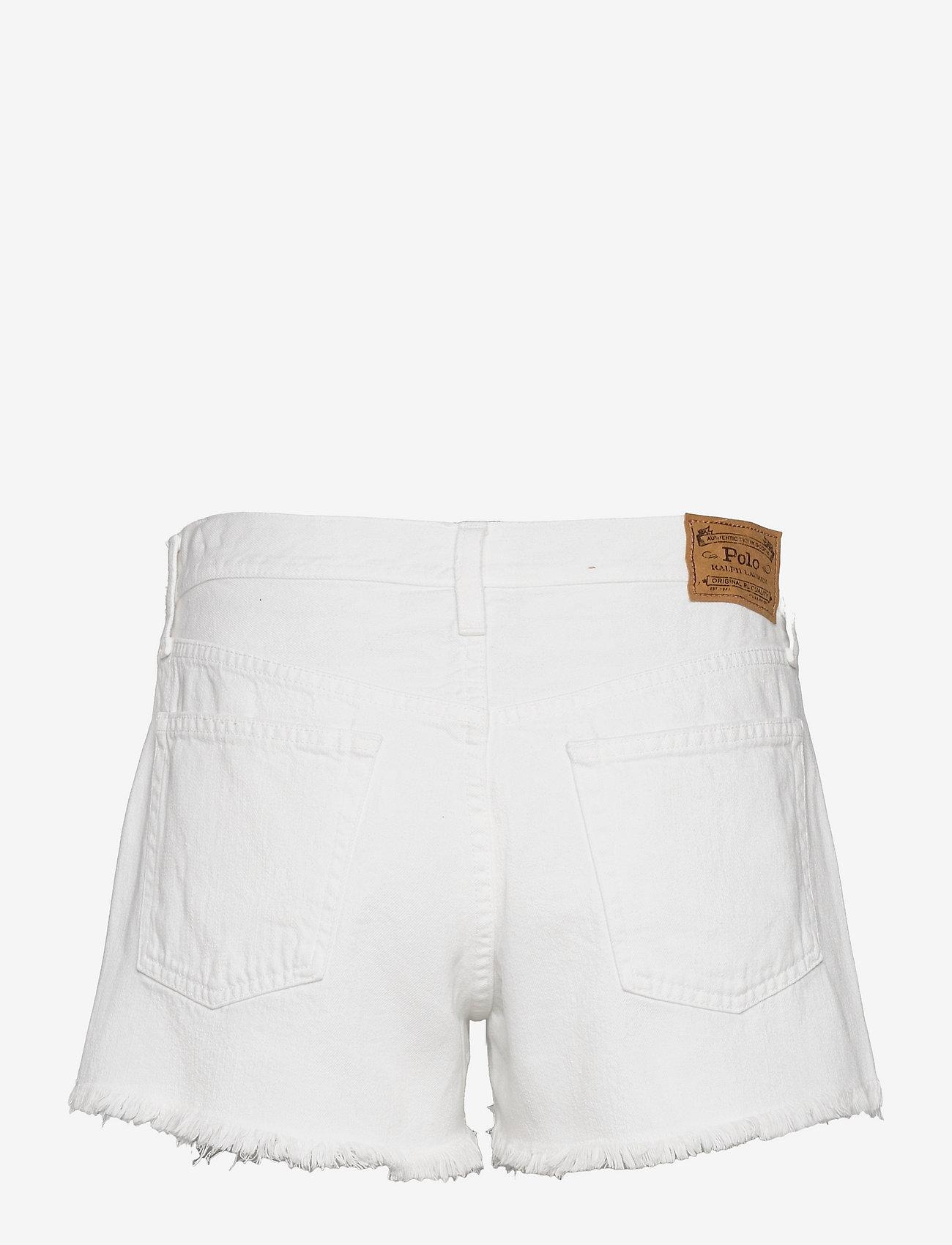 Polo Ralph Lauren - Sophia Denim Short - denimshorts - white - 1