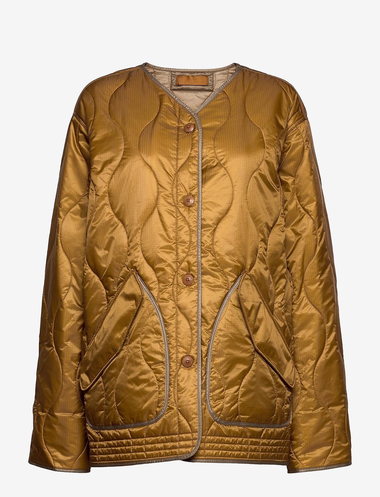 Polo Ralph Lauren - QLTD LNR JKT-JACKET - quiltede jakker - harvest/bl khaki - 0