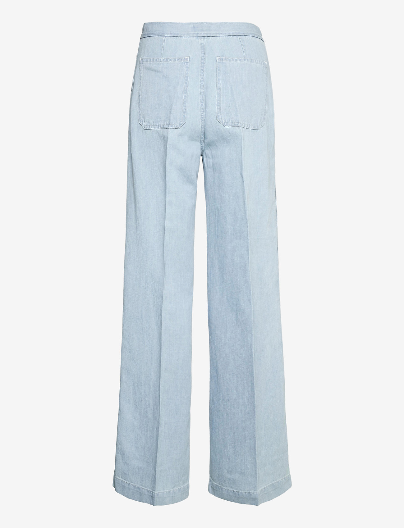 Polo Ralph Lauren - Margery Wide-Leg Jean - brede jeans - light indigo - 1