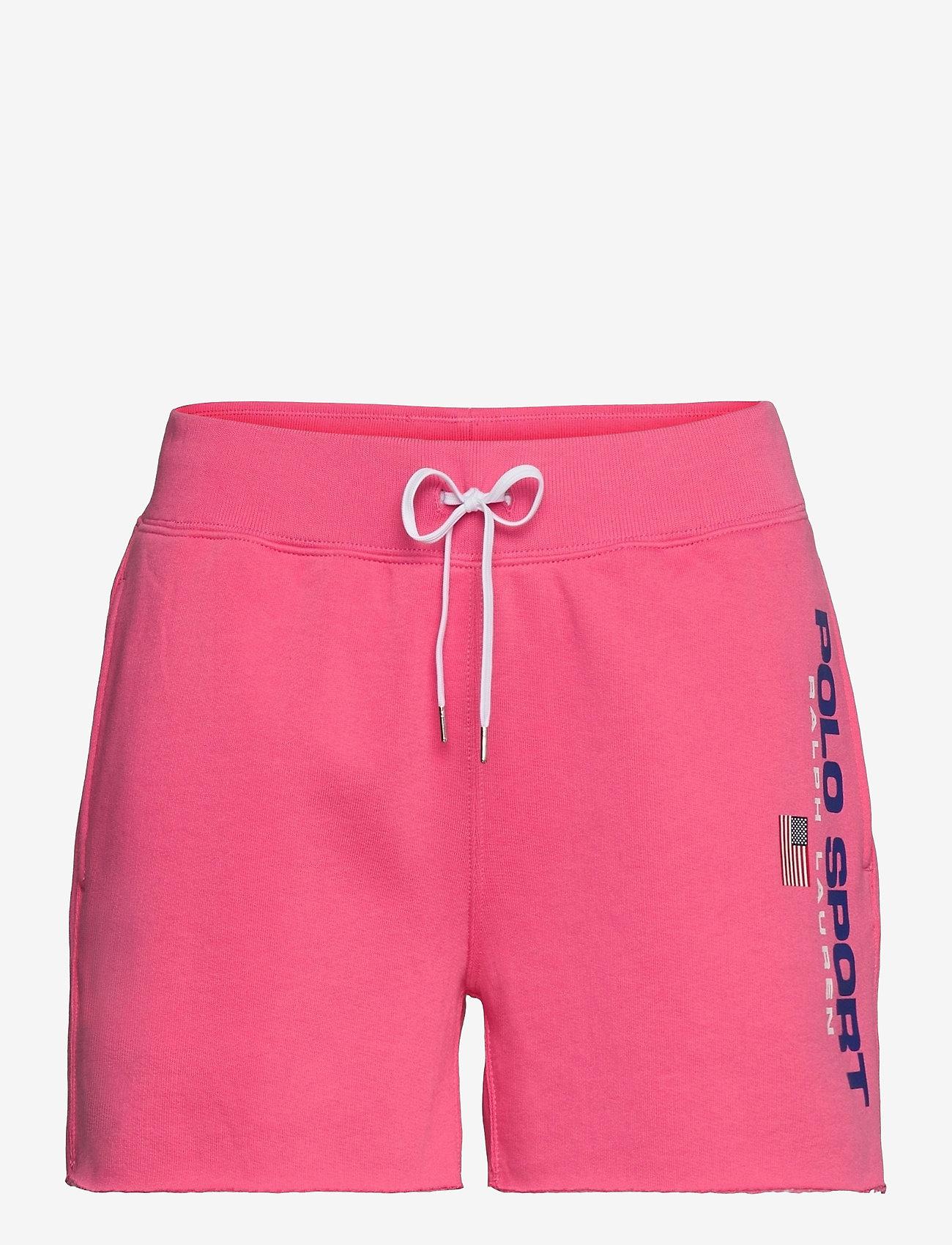 Polo Ralph Lauren - Logo Fleece Short - shorts casual - blaze knockout pi - 0