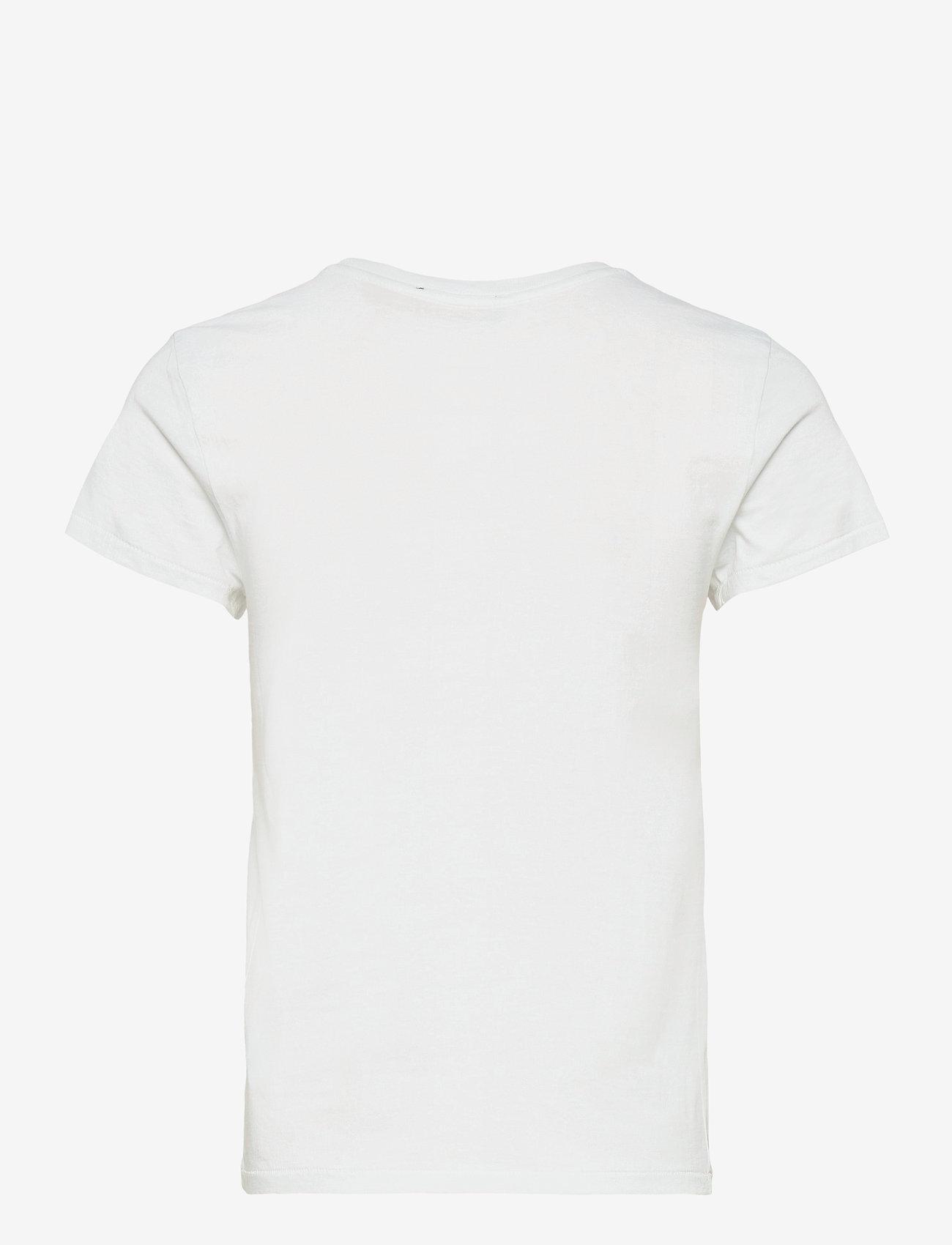 Polo Ralph Lauren - Madras-Flag Cotton Tee - t-shirts - white - 1