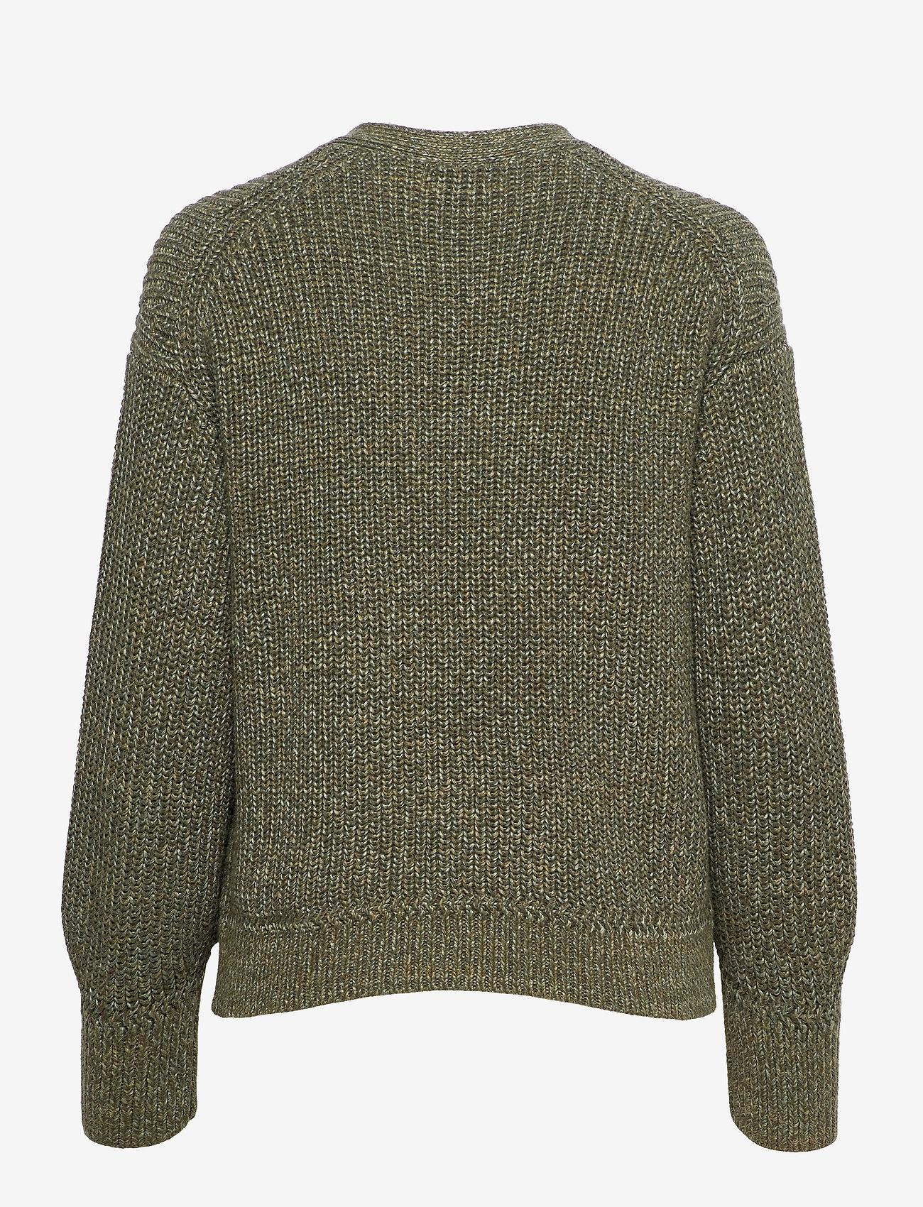 Polo Ralph Lauren - BLN SLV CARD-LONG SLEEVE-SWEATER - cardigans - olive - 1