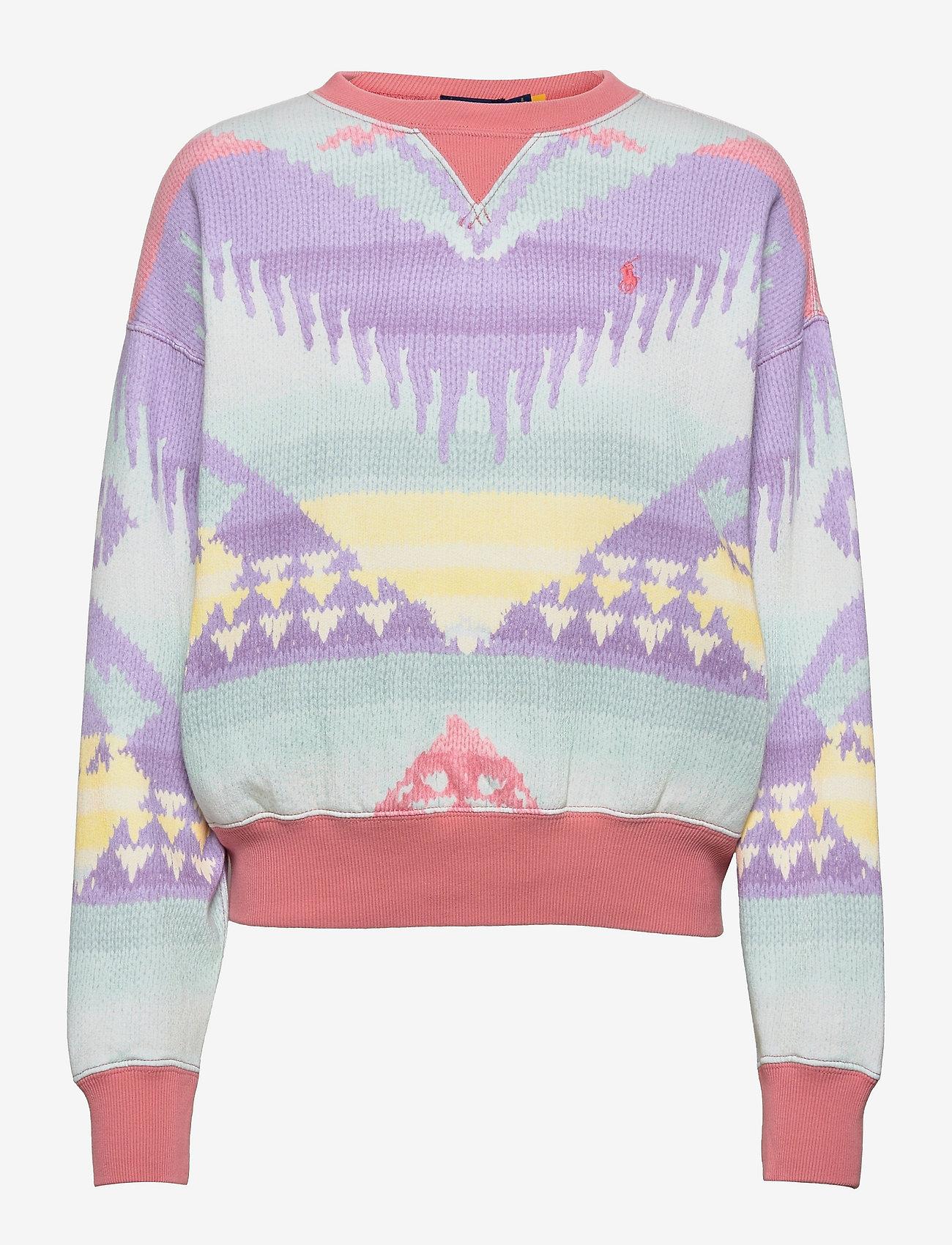 Polo Ralph Lauren - Southwestern Fleece Sweatshirt - sweatshirts - desert rose bcn - 0