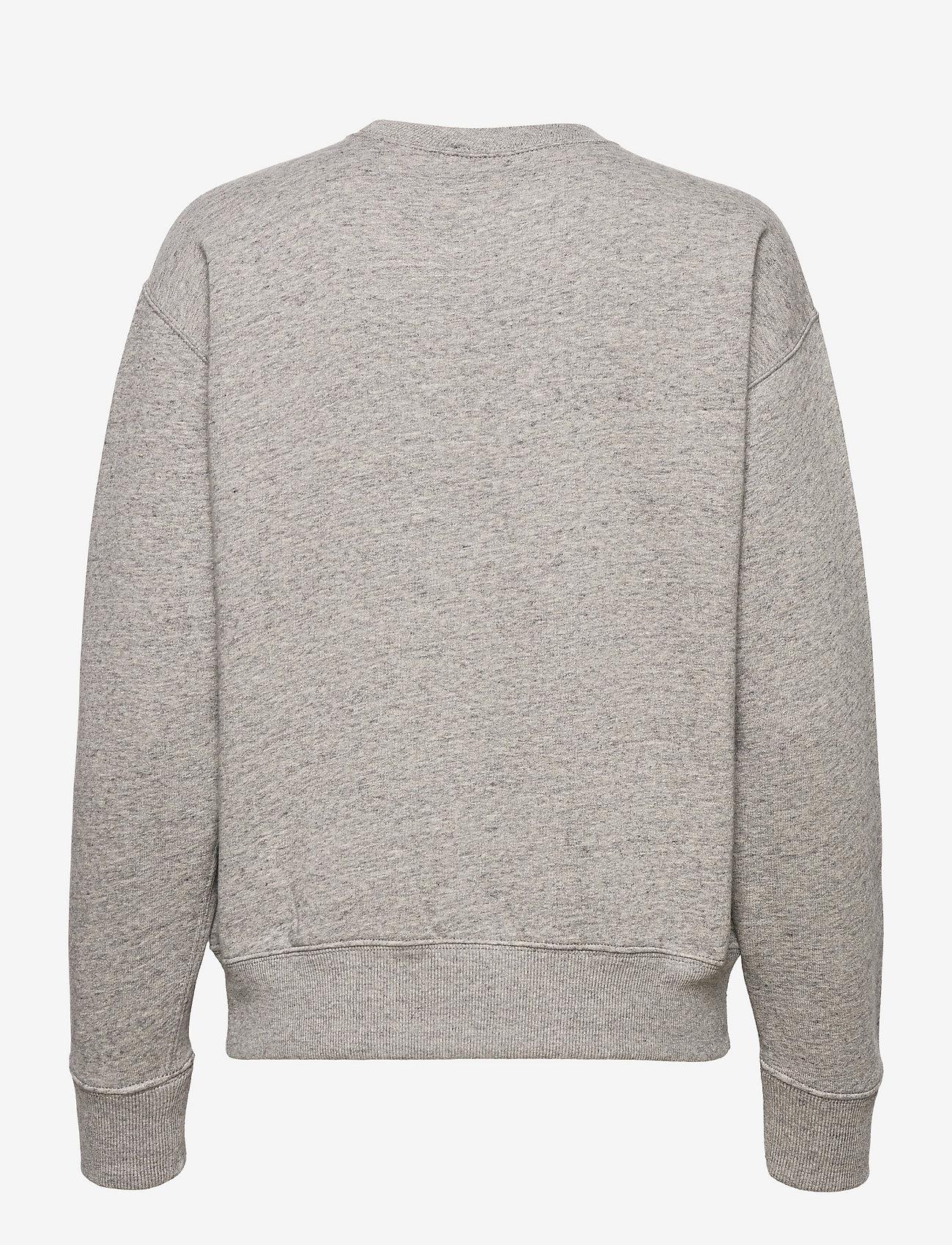 Polo Ralph Lauren - Polo Match Heathered Fleece Sweatshirt - sweatshirts - dark vintage heat - 1