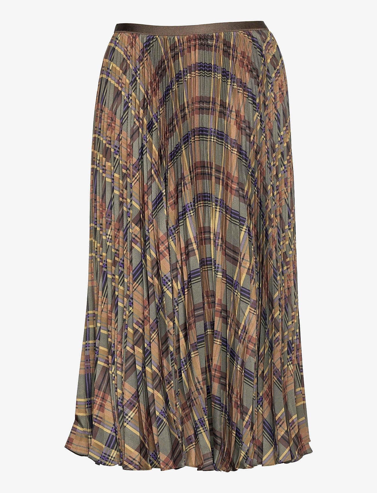 Polo Ralph Lauren - Plaid Pleated Midi Skirt - midi skirts - 1121 fall multi p - 1