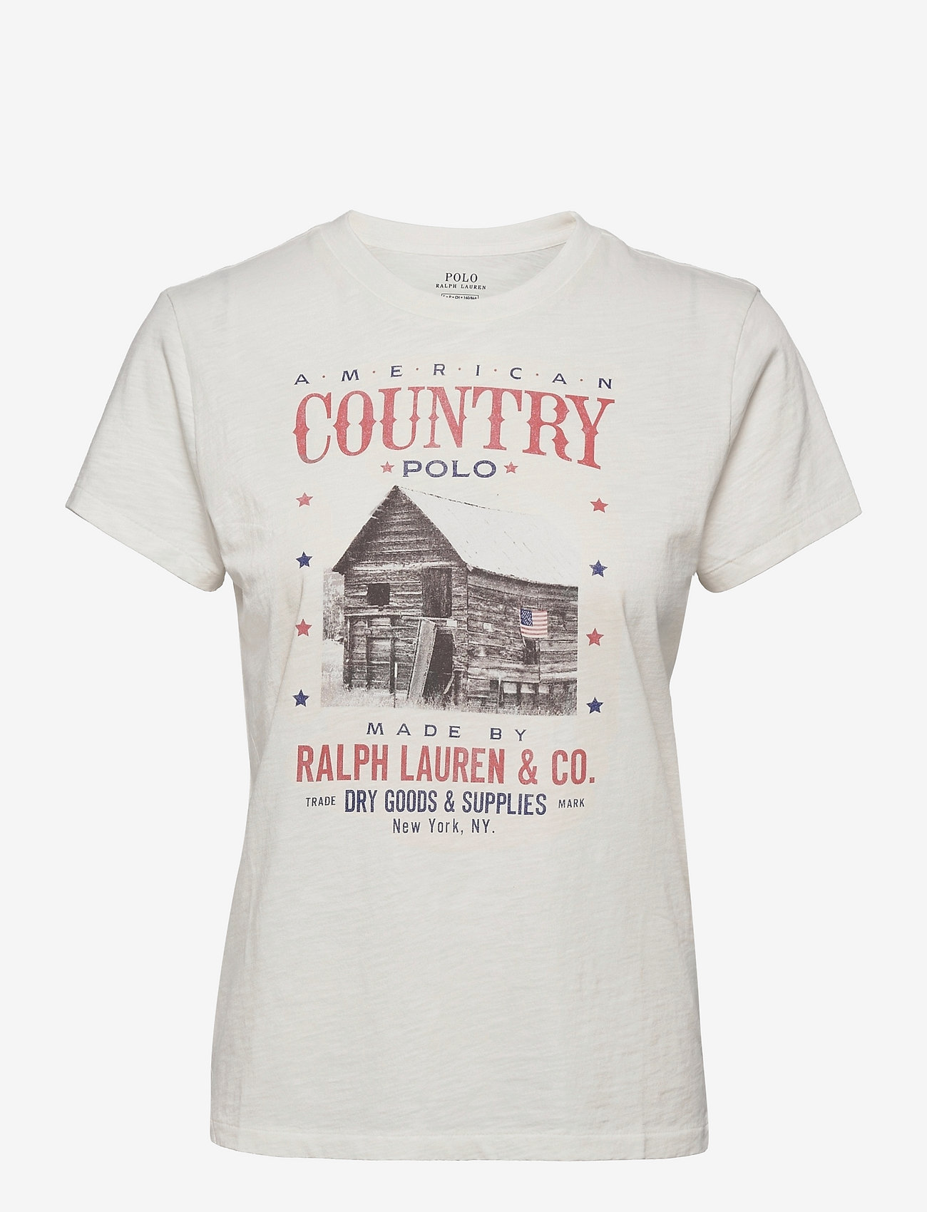 Polo Ralph Lauren - Country Polo Logo Jersey Tee - t-shirts - nevis - 0