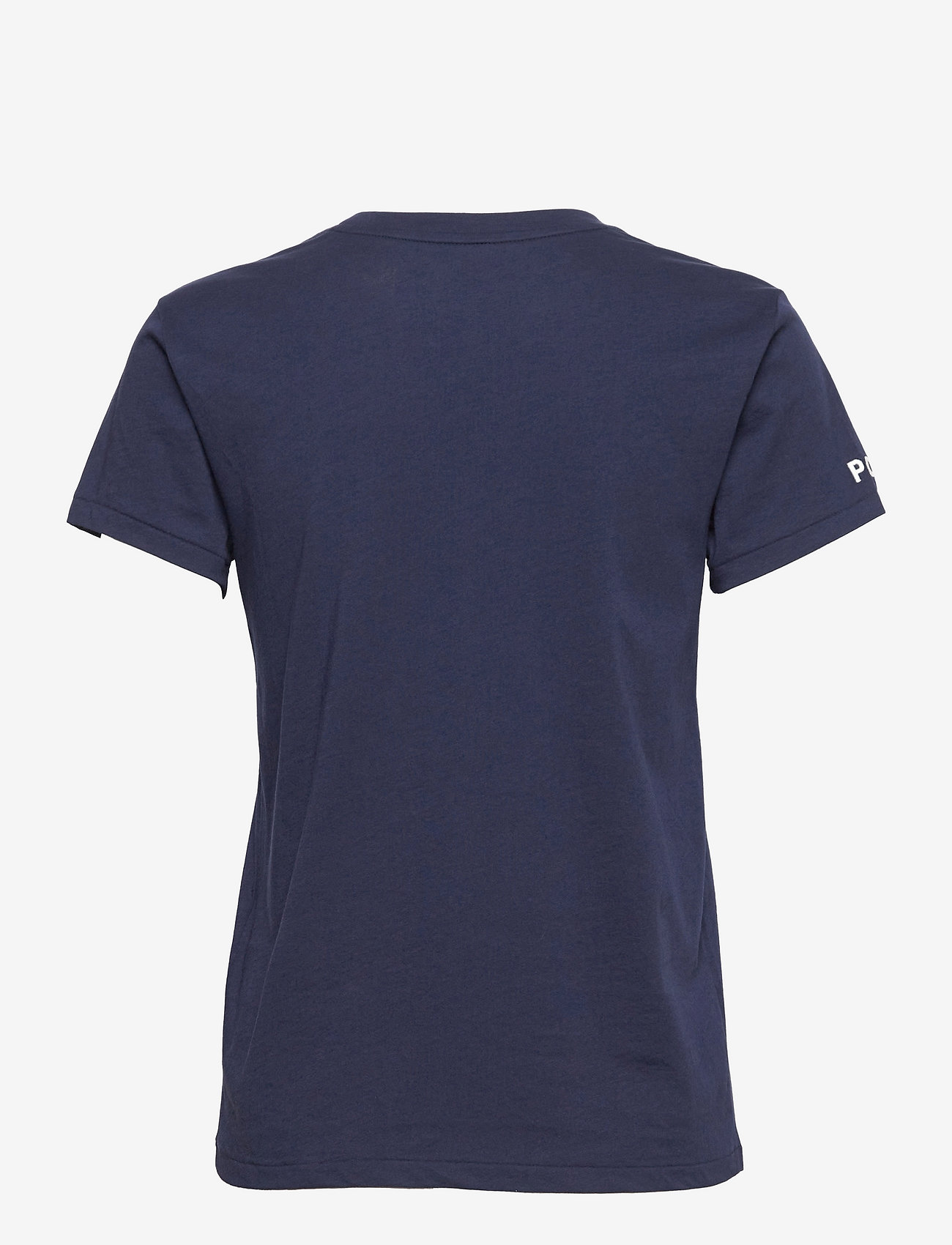 Polo Ralph Lauren - Letter Logo Jersey Tee - t-shirts - newport navy - 1