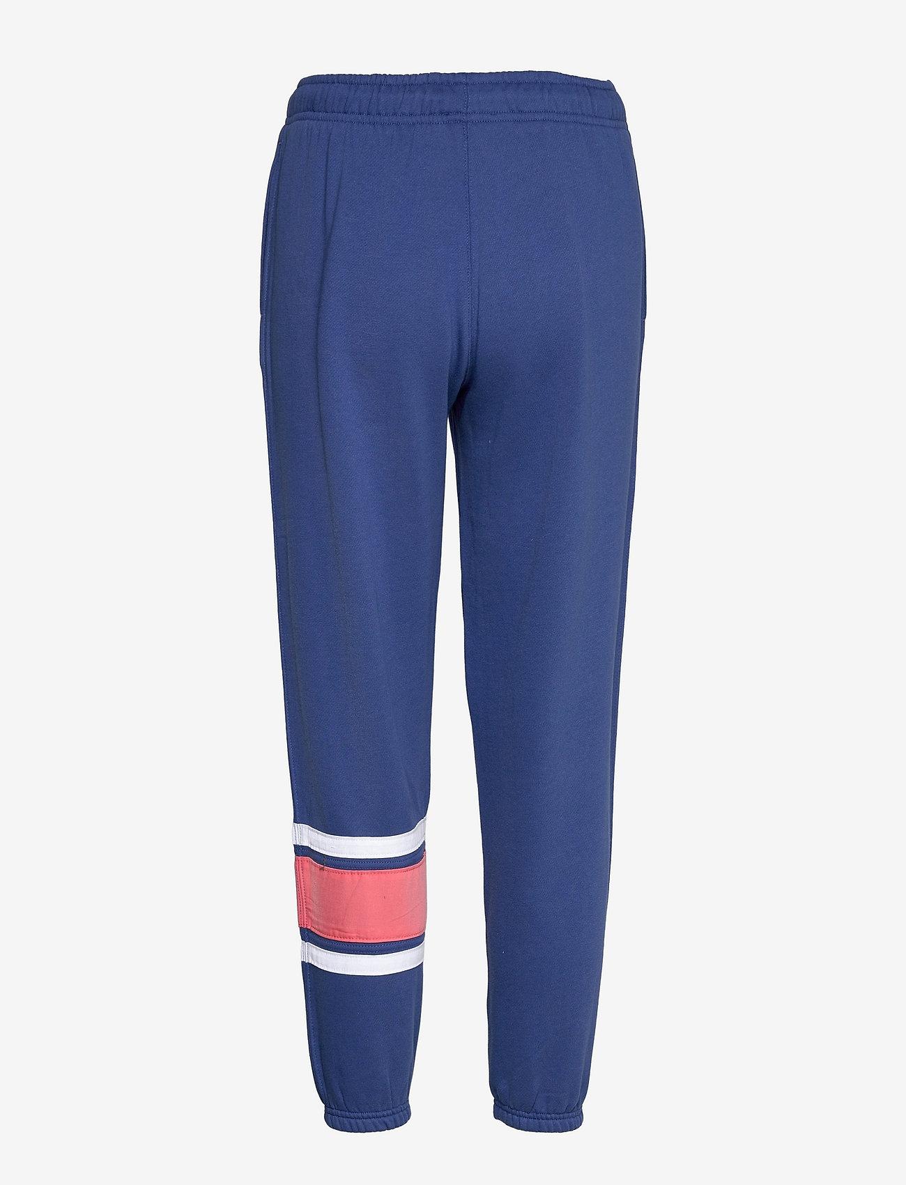 Polo Ralph Lauren - Striped-Trim Fleece Sweatpant - sweatpants - beach royal - 1